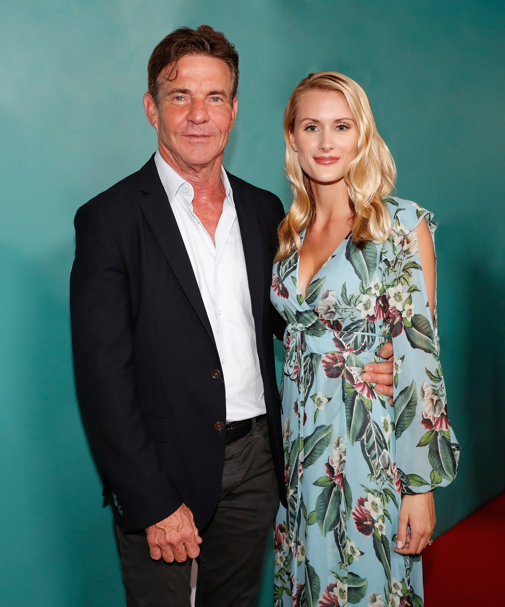 Dennis Quaid's Engagement To His 26-Year-Old Fiancée Is Life Imitating Art