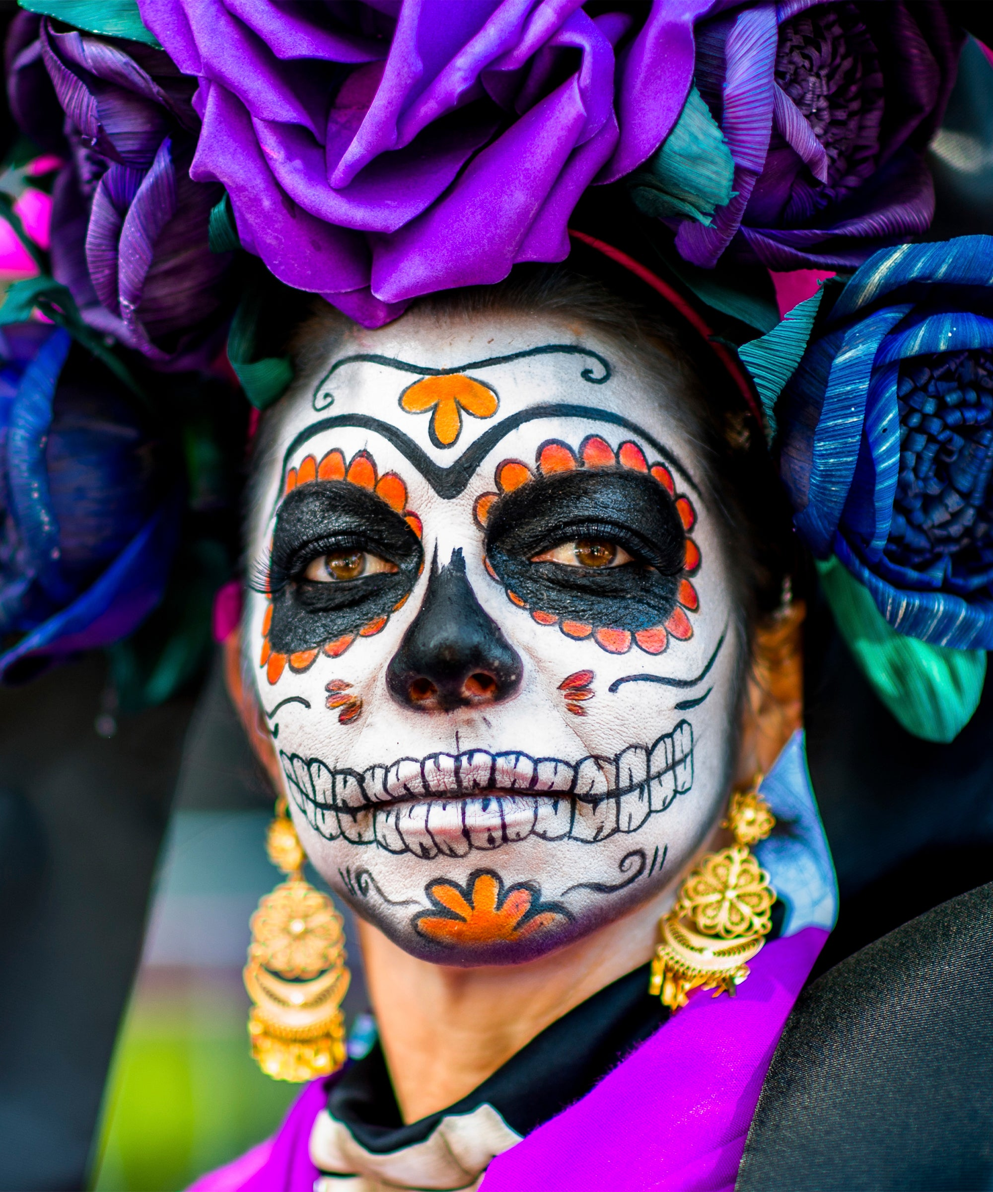 Details about  /Leg Avenue Women/'s Day of The Dead Sugar Skull Costume