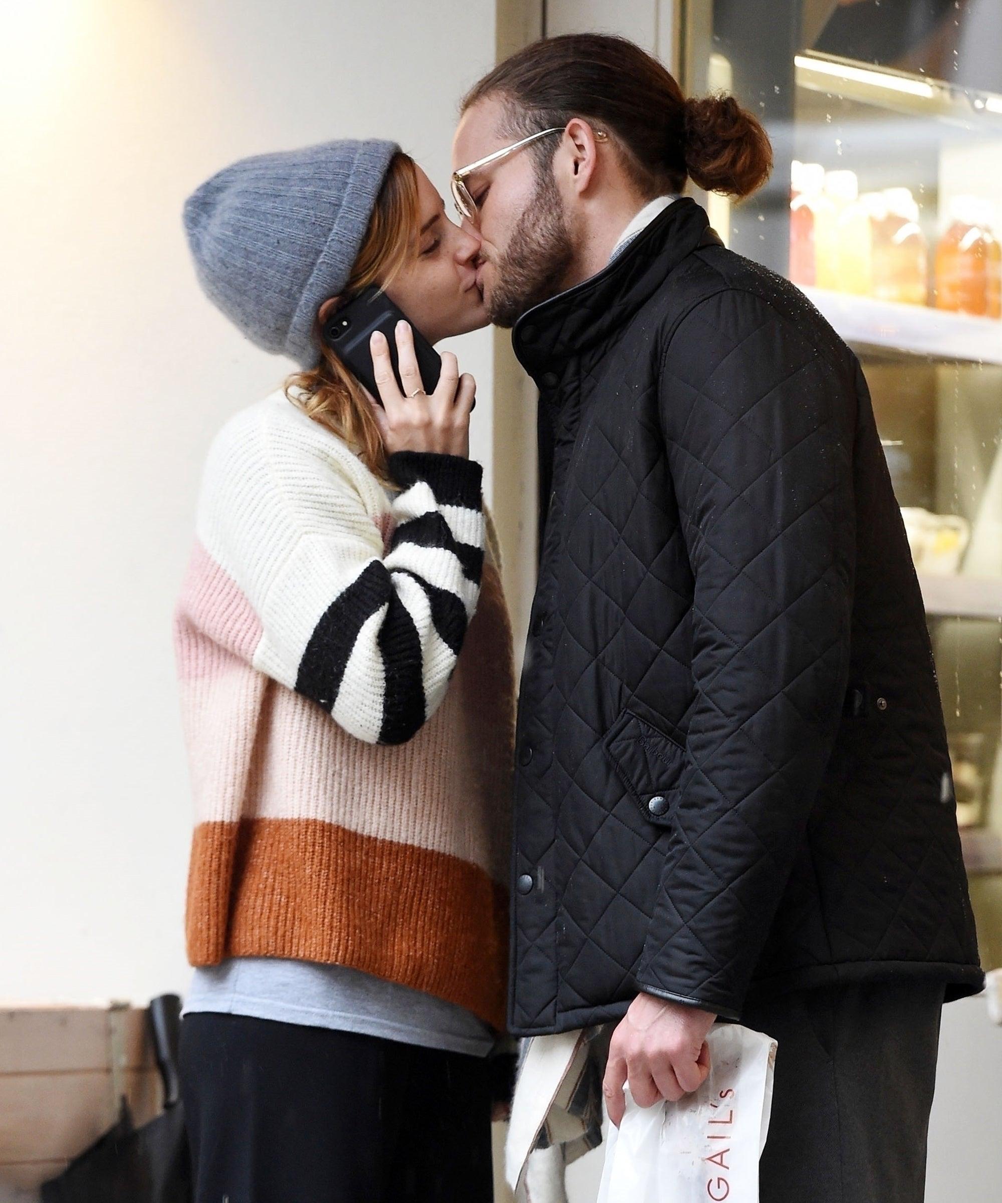 Emma Watson Spotted Kissing Mystery Man