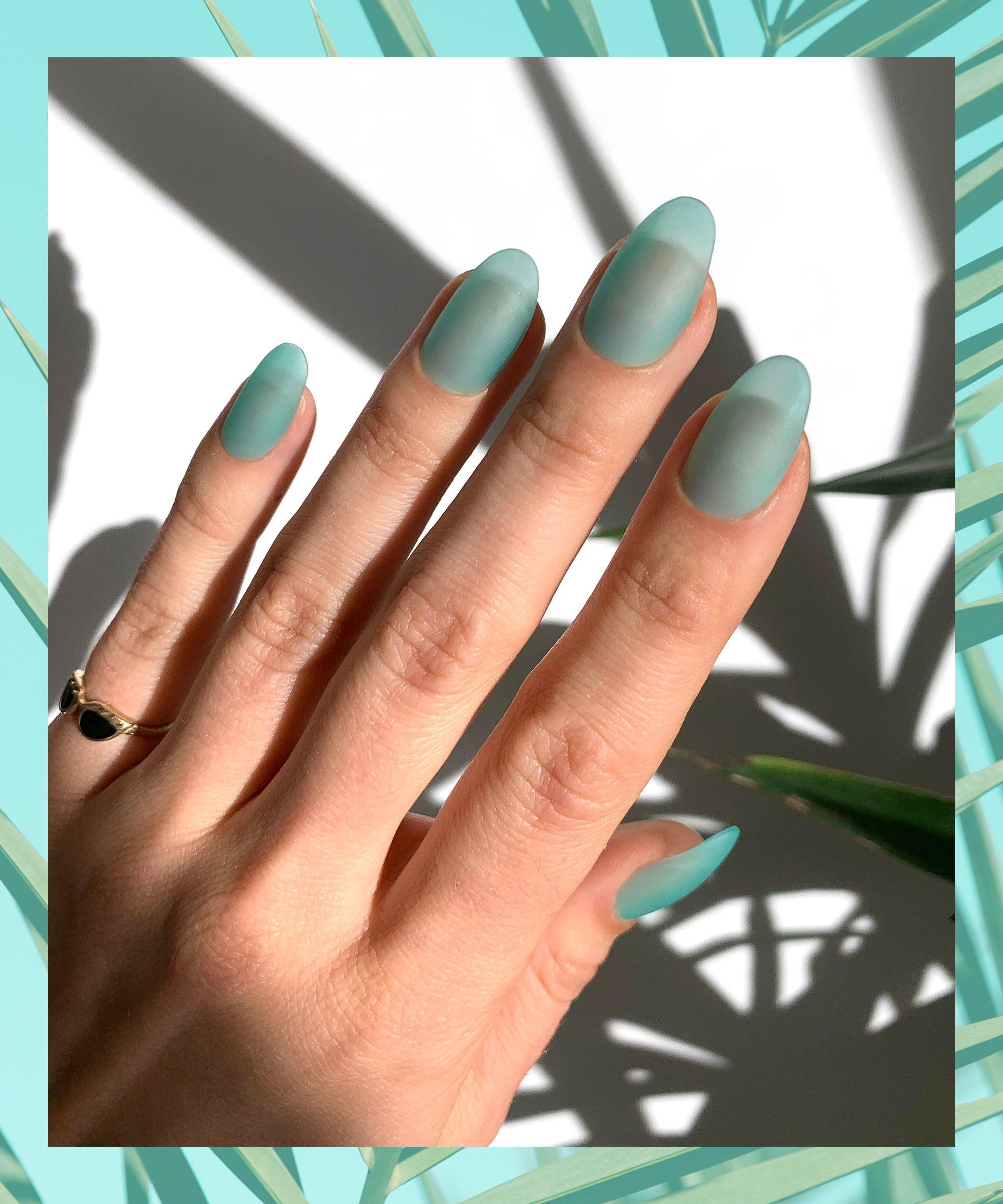 Seaglass Nails sind die neuen Jelly Nails & so sehen sie aus