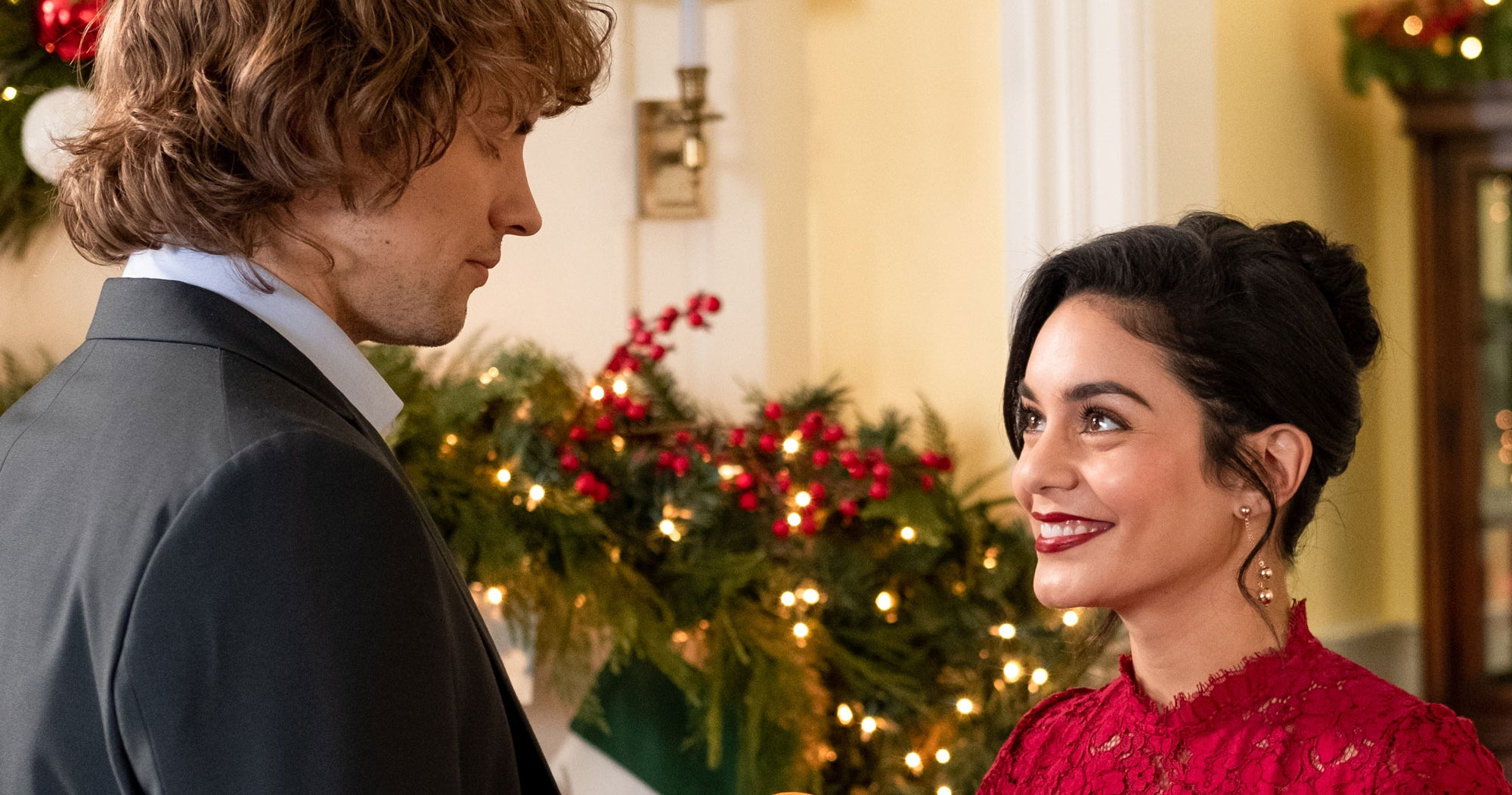 Vanessa Hudgens Says The Knight Before Christmas Is A Completely Different Holiday Rom-Com