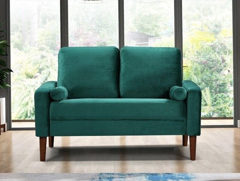 Excellent Best Small Loveseats For Affordable Space Saving Sofa Lamtechconsult Wood Chair Design Ideas Lamtechconsultcom