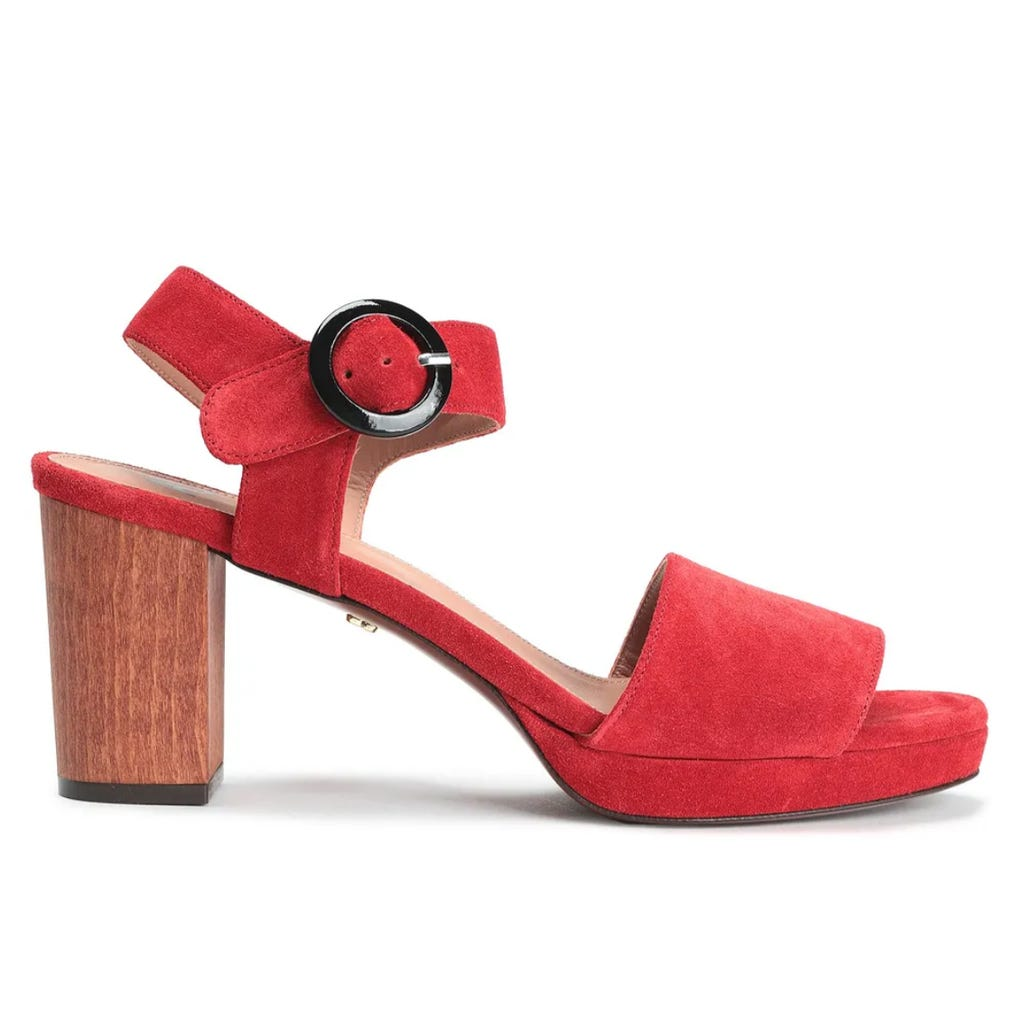 Bea Snakeskin High Heel Sandals
