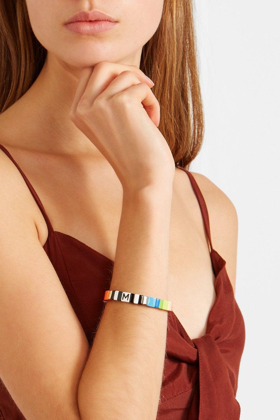 Roxanne Assoulin Alphabet Soup Bracelet