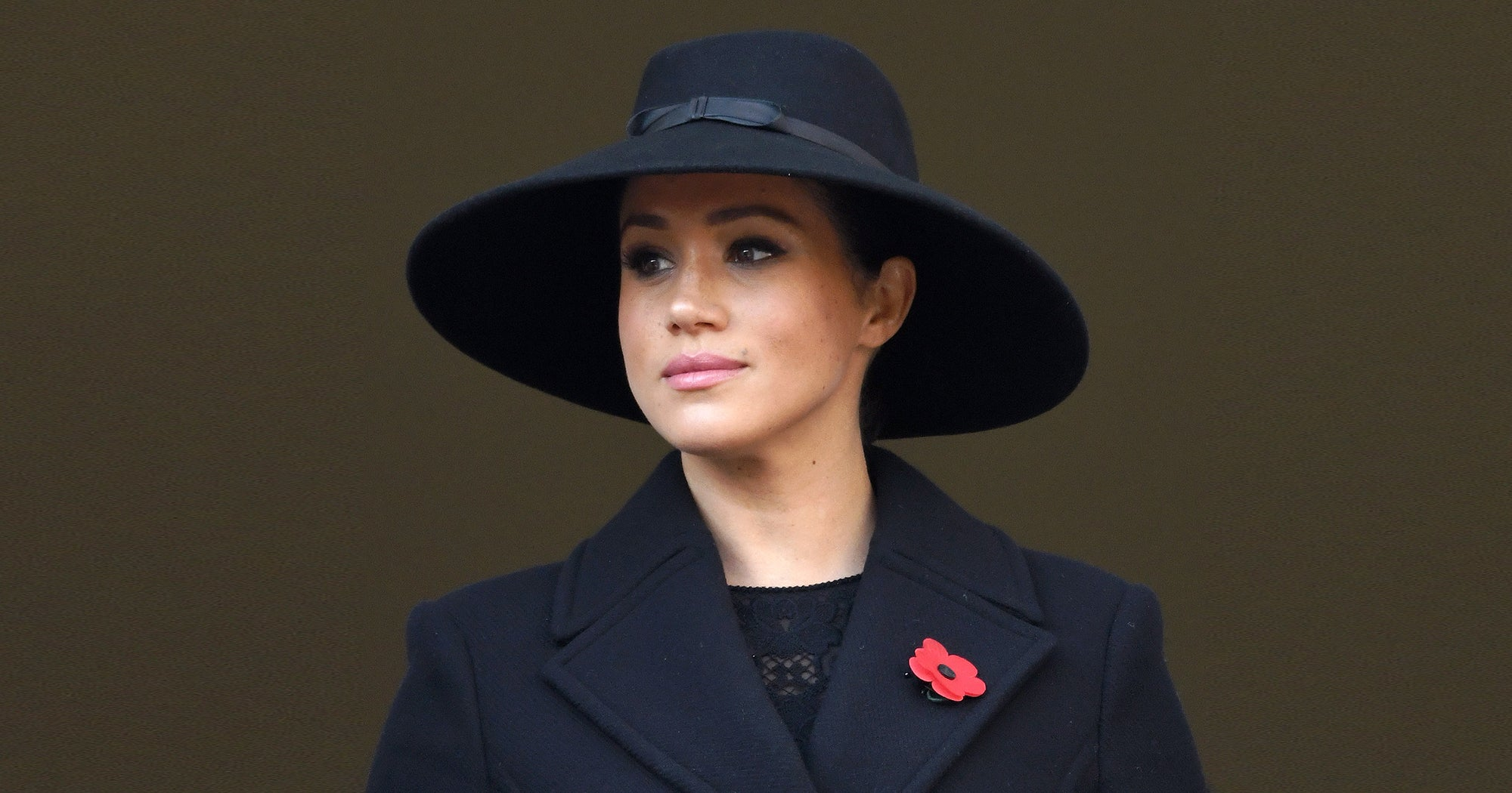 Meghan Markle Didn't Stand With The Queen At Remembrance Day — But It's Not Royal Shade