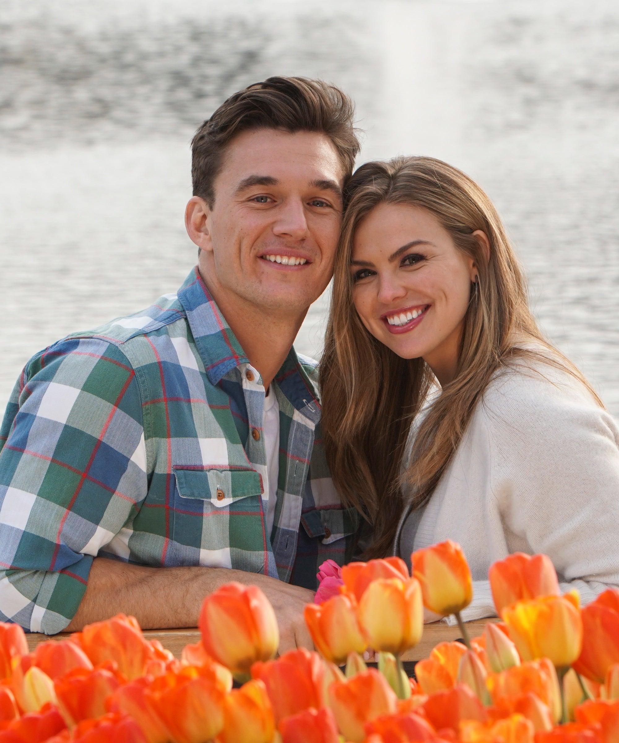 Tyler Cameron & Hannah Brown Reunited Last Night