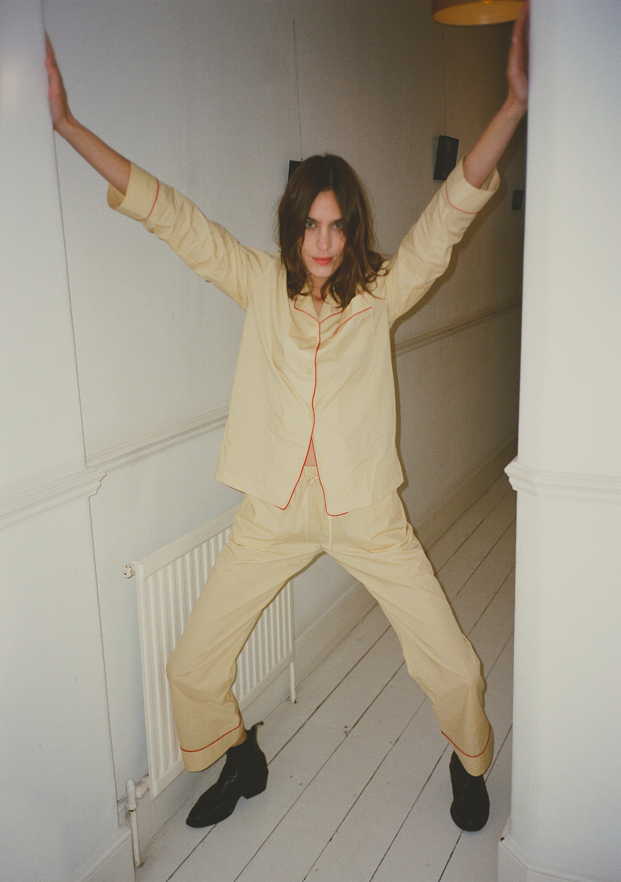 Alexa Chung's New Sleepwear Collection Is The Cat's Pyjamas