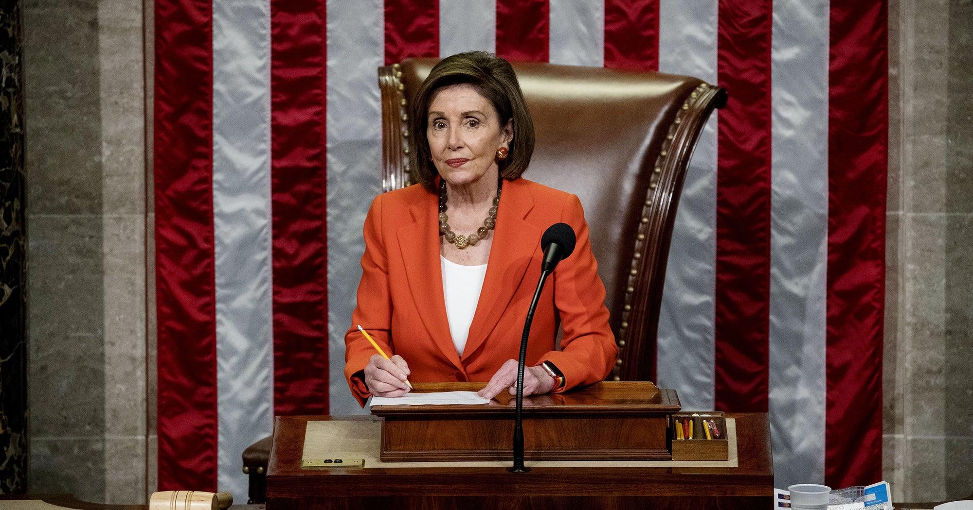 Nancy Pelosi Just Compared Trump To Watergate