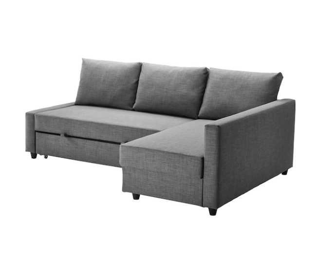 Remarkable Friheten Sleeper Sectional 3 Seat W Storage Skiftebo Dark Gray Ocoug Best Dining Table And Chair Ideas Images Ocougorg