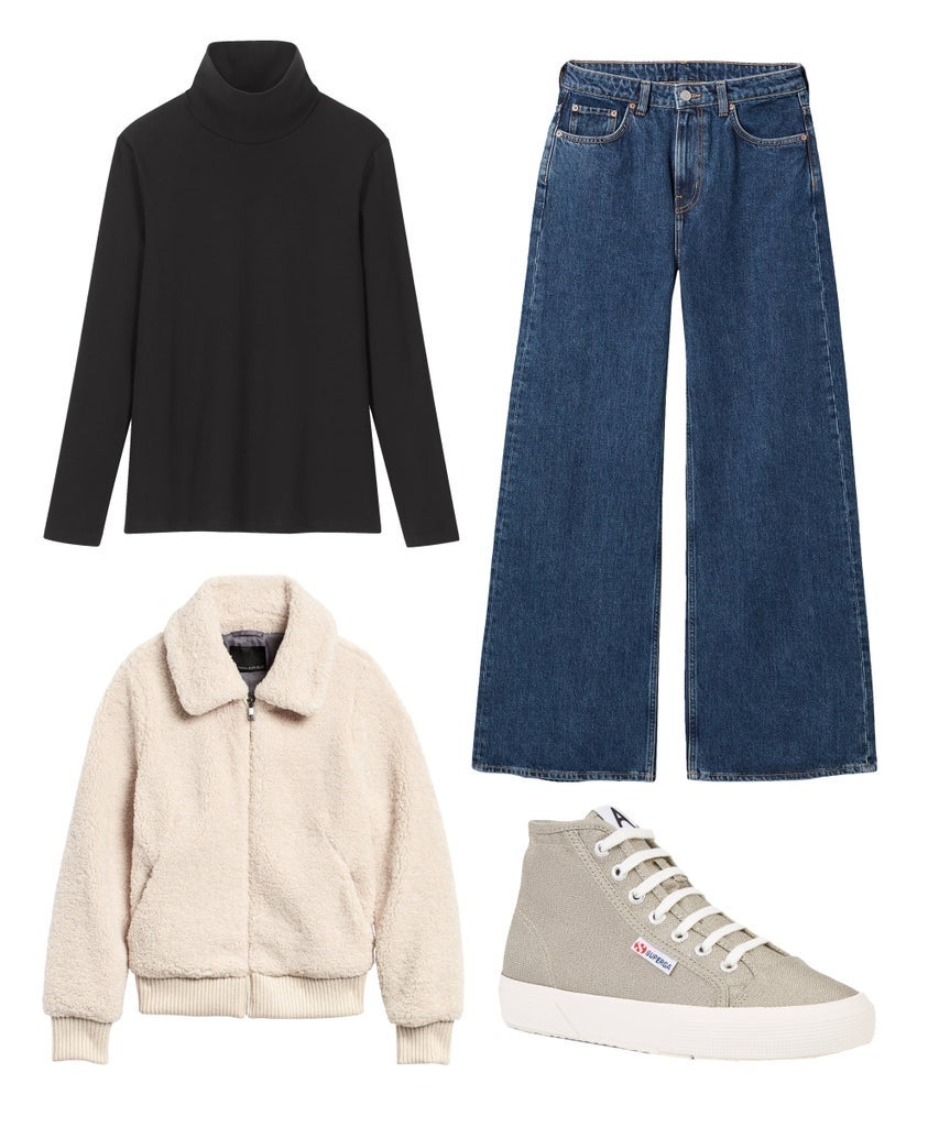 1 Teil, 8 Outfits: So vielseitig stylst du deinen Rollkragenpullover