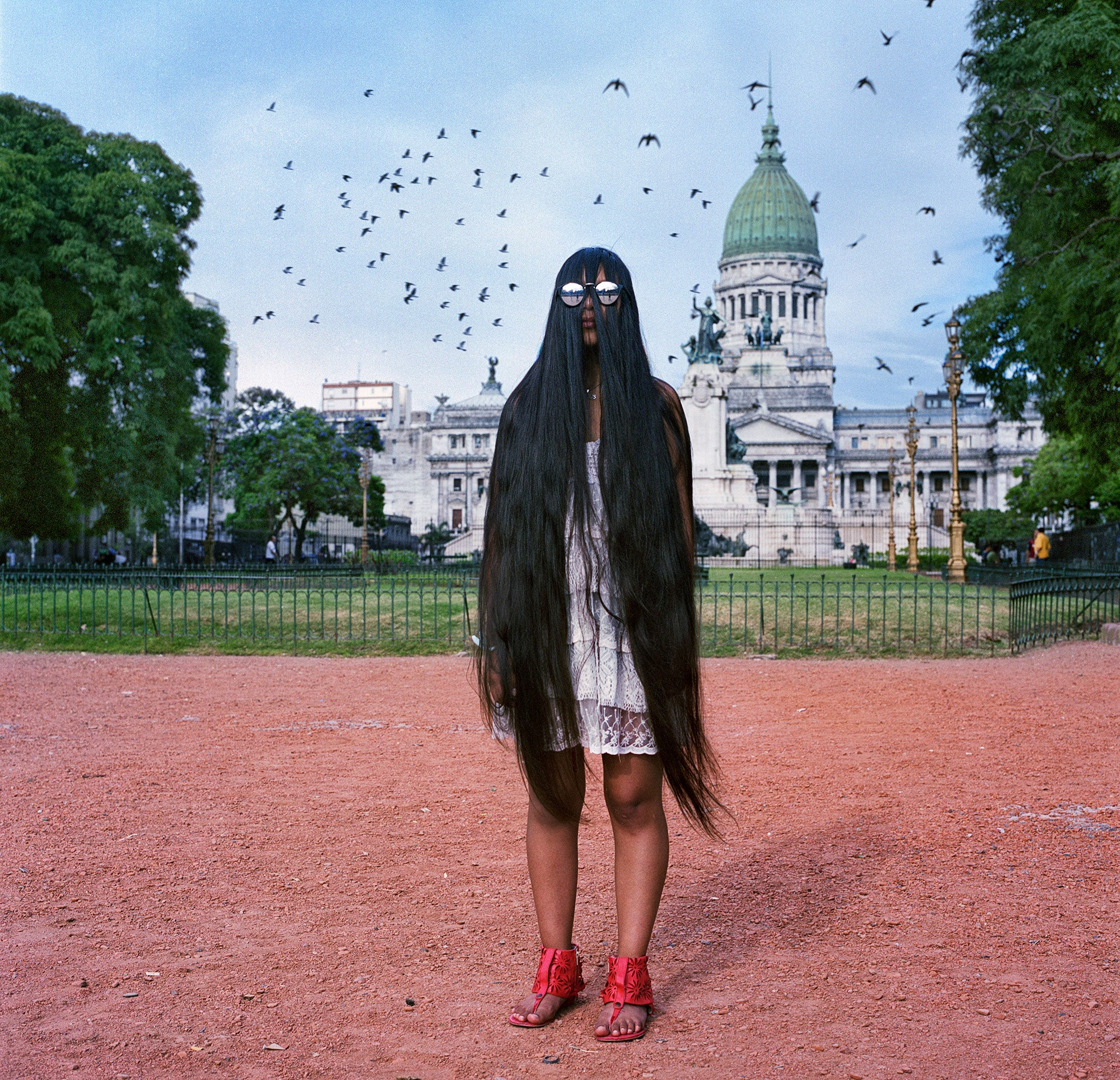 Incredible Photos Of The Long-Haired Women Of Argentina