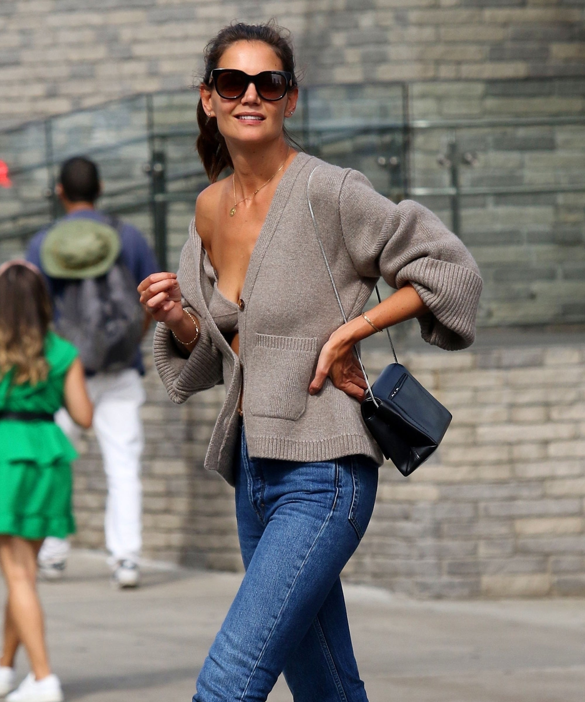 How To Shop Katie Holmes' Viral Bralette On A Budget