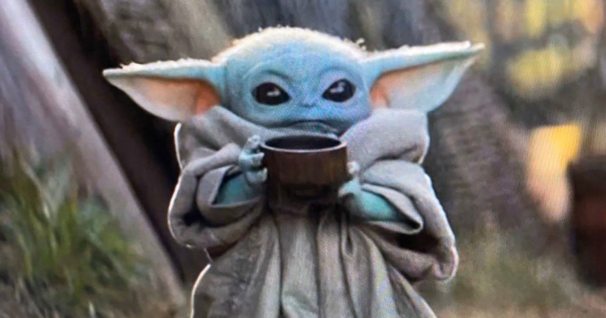 Baby Yoda Drinking Soup Is Taking Over The Internet
