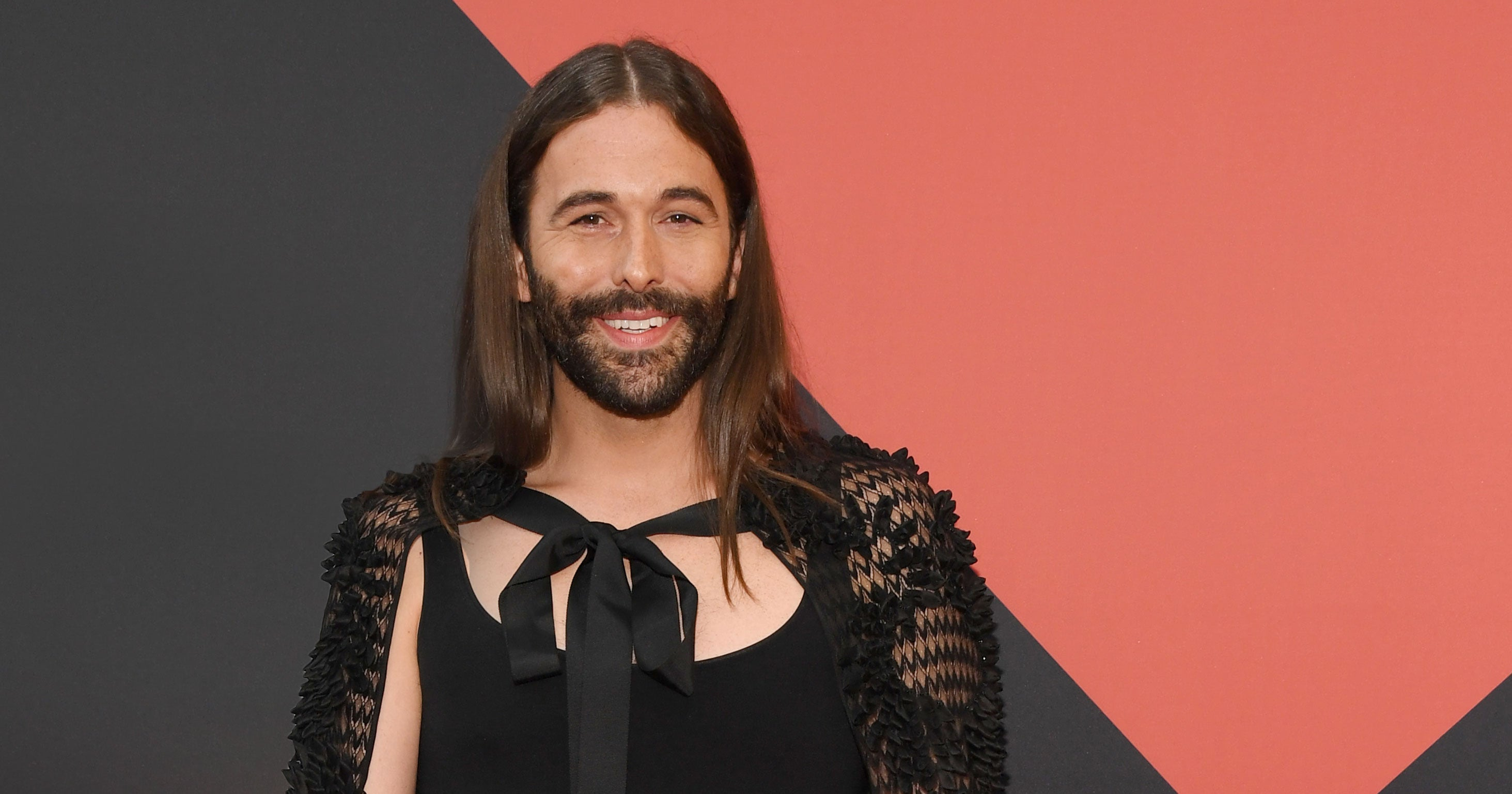 Jonathan Van Ness Wears A Gown And Sneakers On The Cover Of Cosmo, Honey
