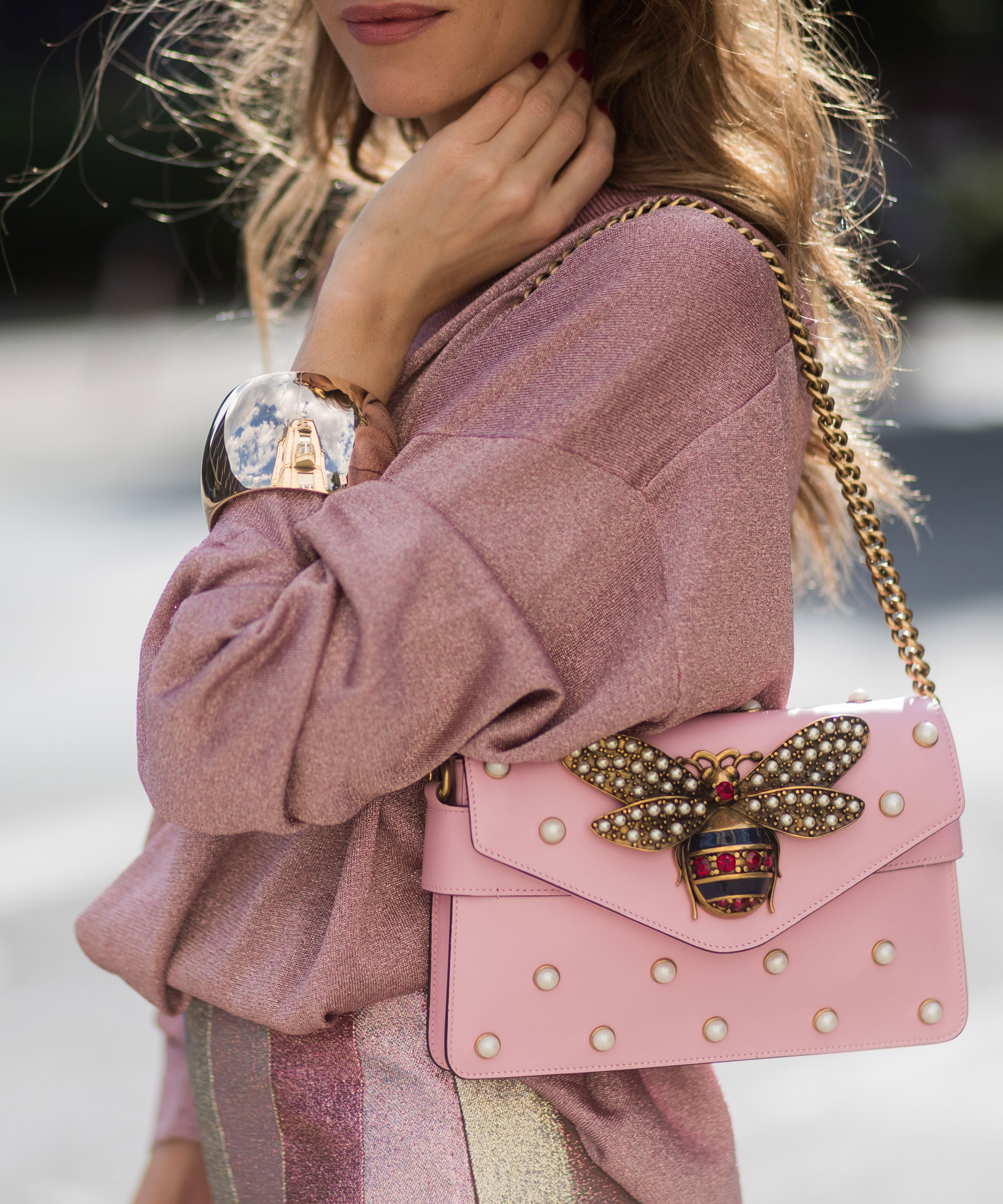 Why Rose-Gold Nail Polish Feels So Right For Winter