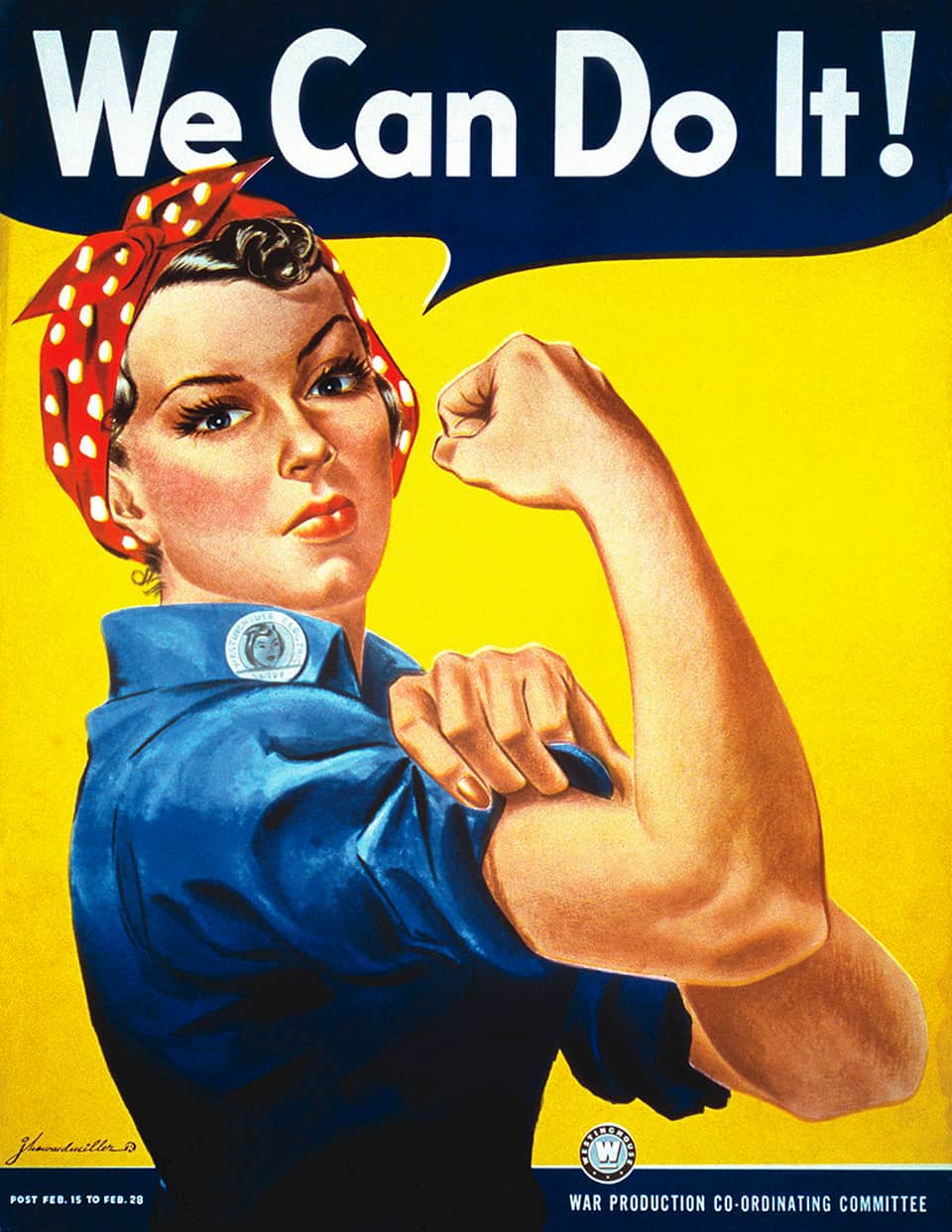 poster of Rosie the Riveter