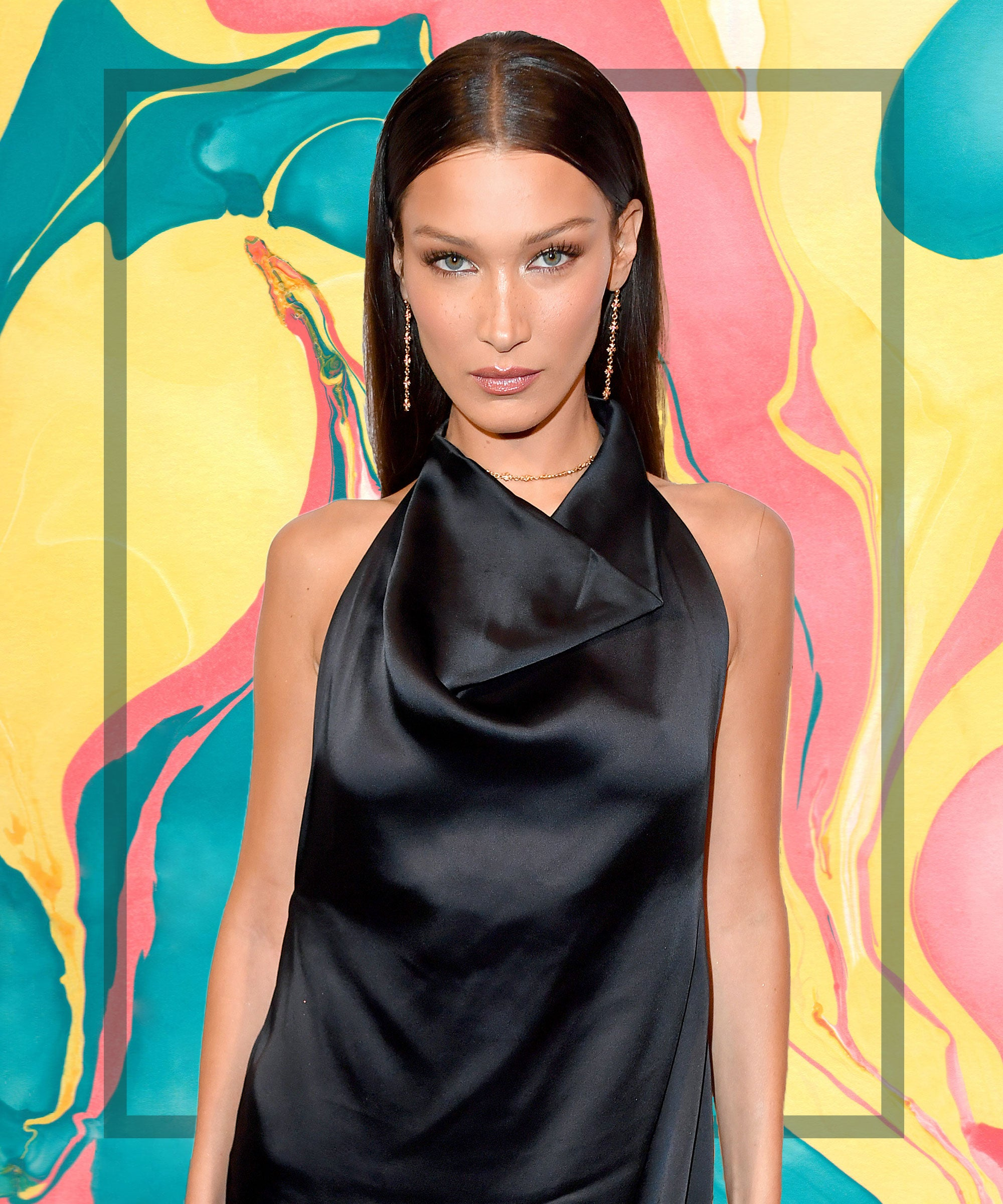 Bella Hadid Is Giving Major '70s Cher Vibes With Her New Look