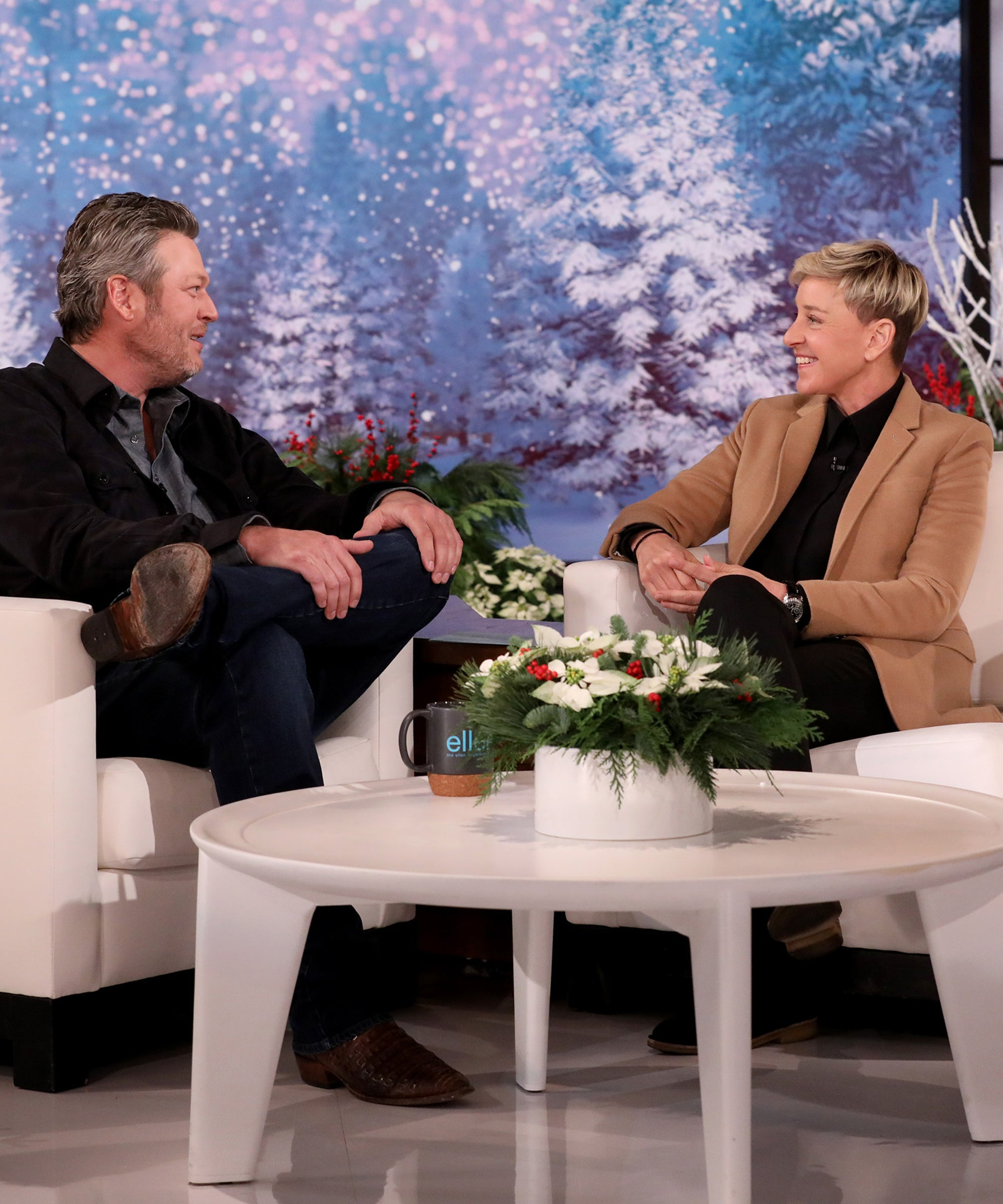 Blake Shelton Is The Latest To Awkwardly Call Out Ellen DeGeneres On Her Show