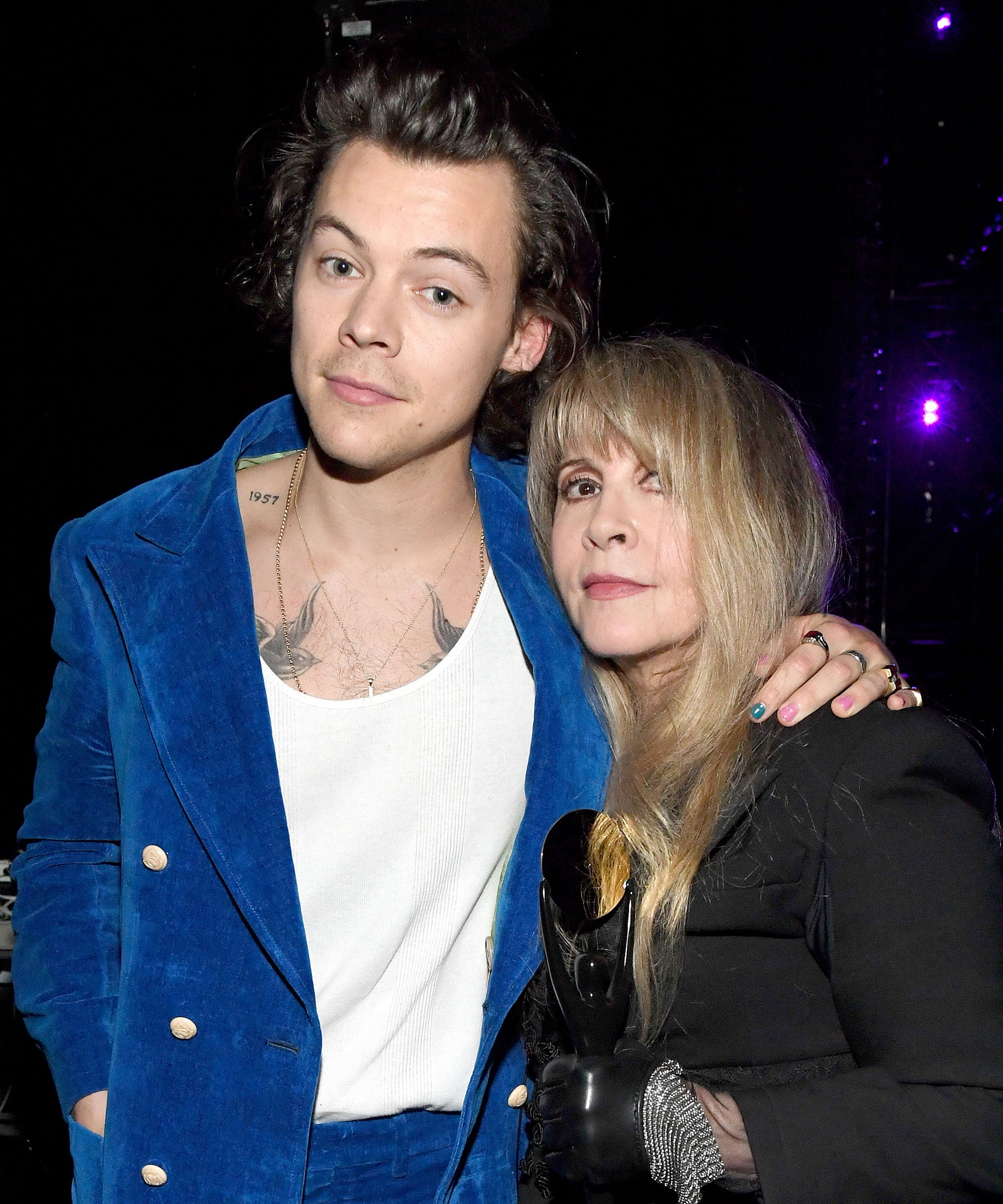 Harry Styles & Stevie Nicks Sang A Surprise Duet & The Internet Couldn't Help But Stan