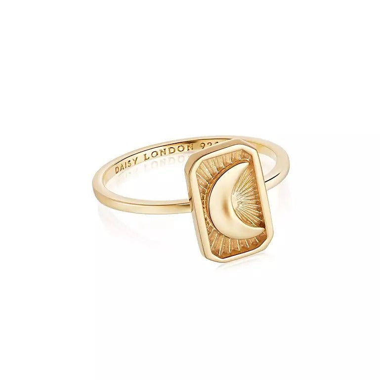 Luna Ring 18ct Gold Plate