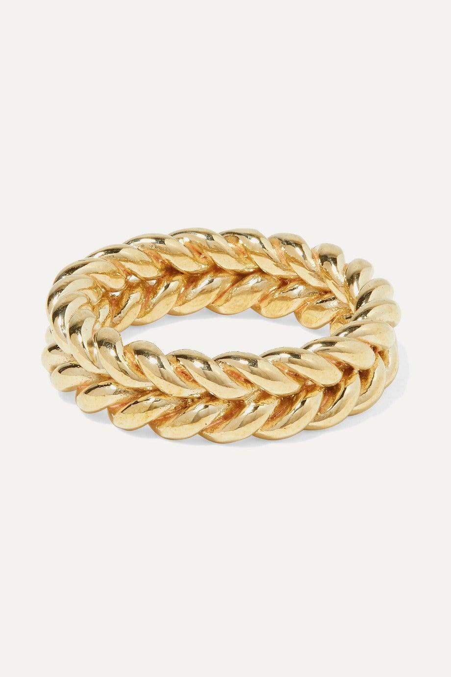 Grana Gold-Tone Ring