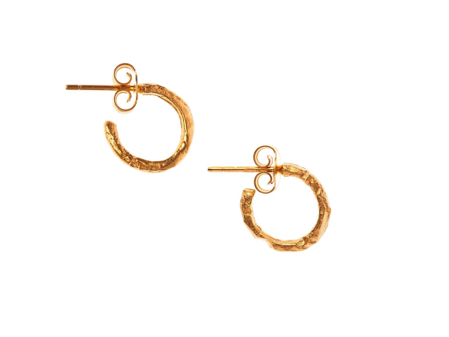 The Morning Hour Hoop Earrings