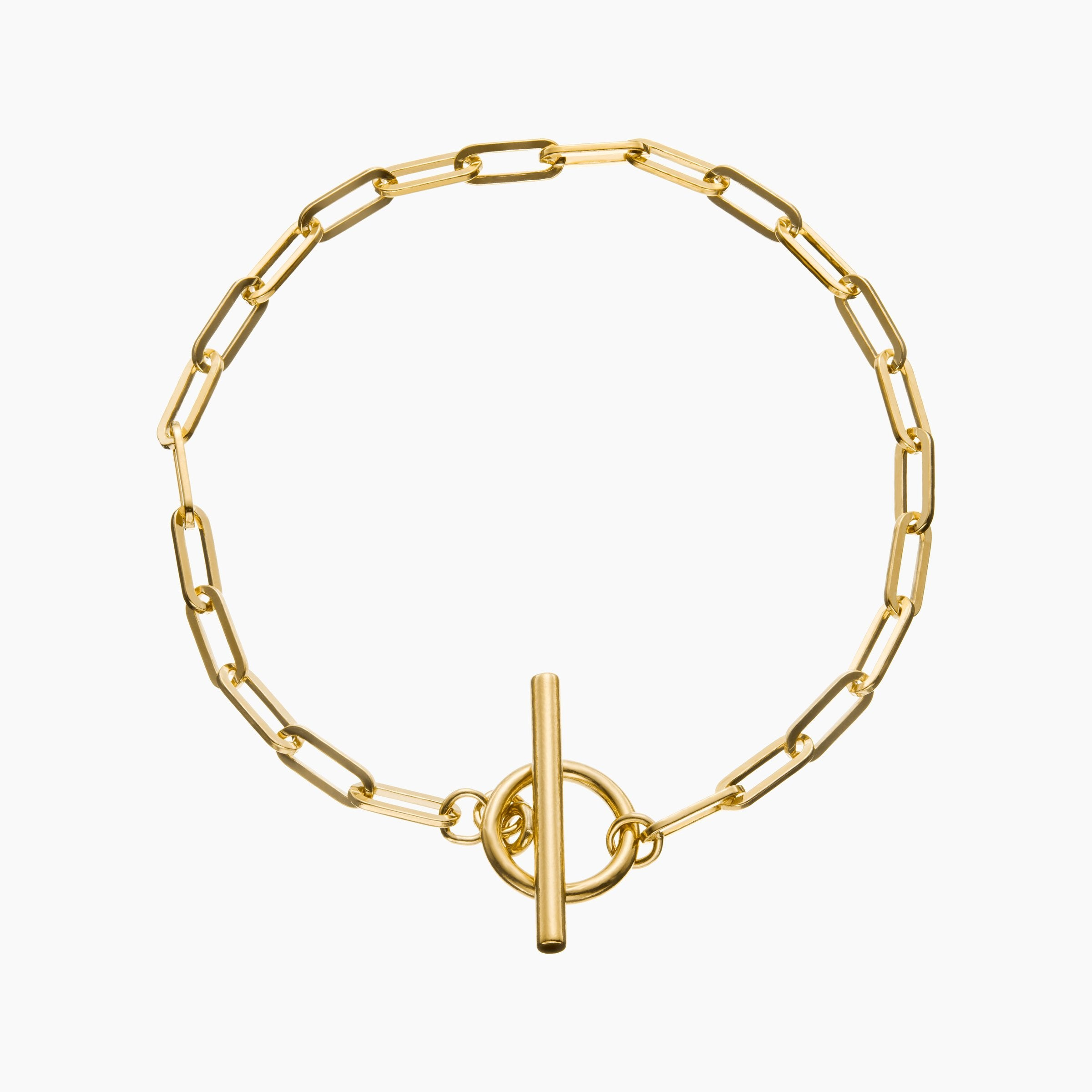Love Link Bracelet Yellow Gold Vermeil