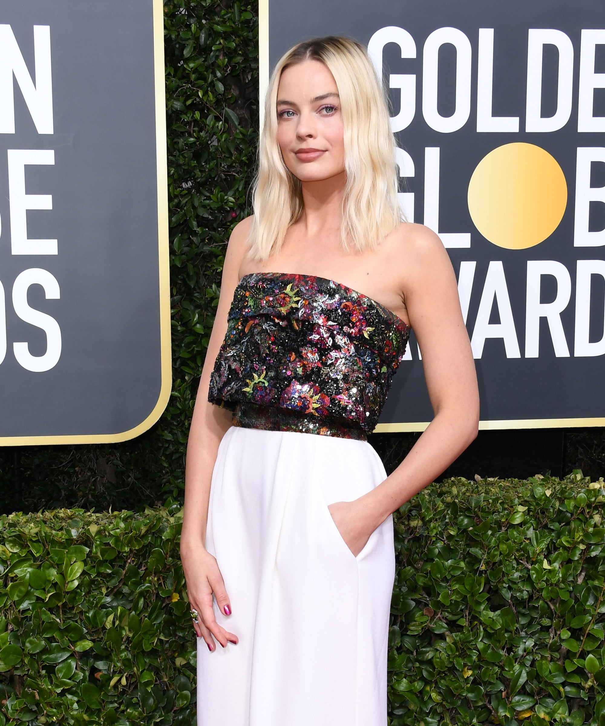 Margot Robbie's Nails Were The Most Underrated Part Of Her Golden Globes Look