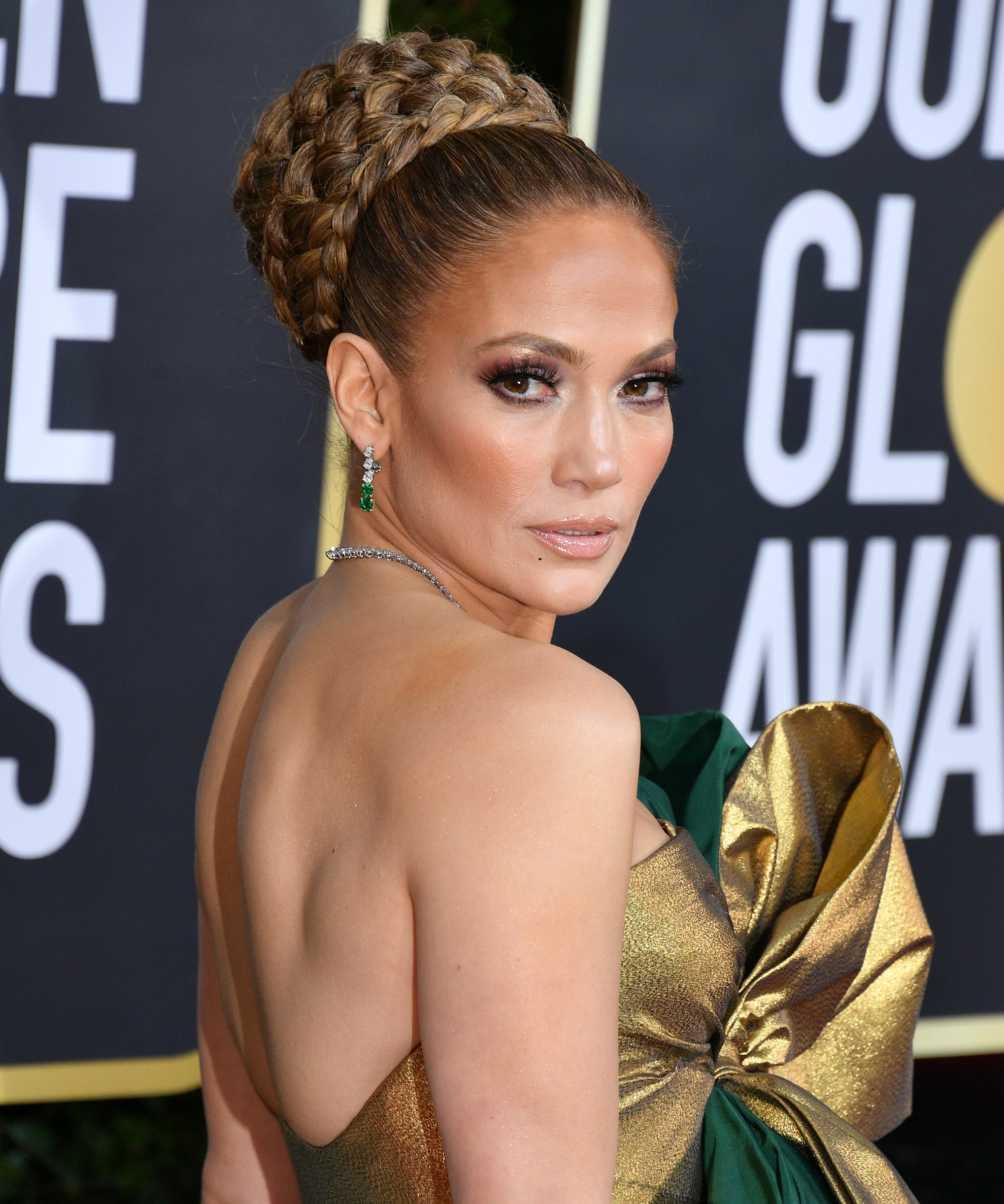 J.Lo's French Manicure Got The Prettiest After-Party Upgrade