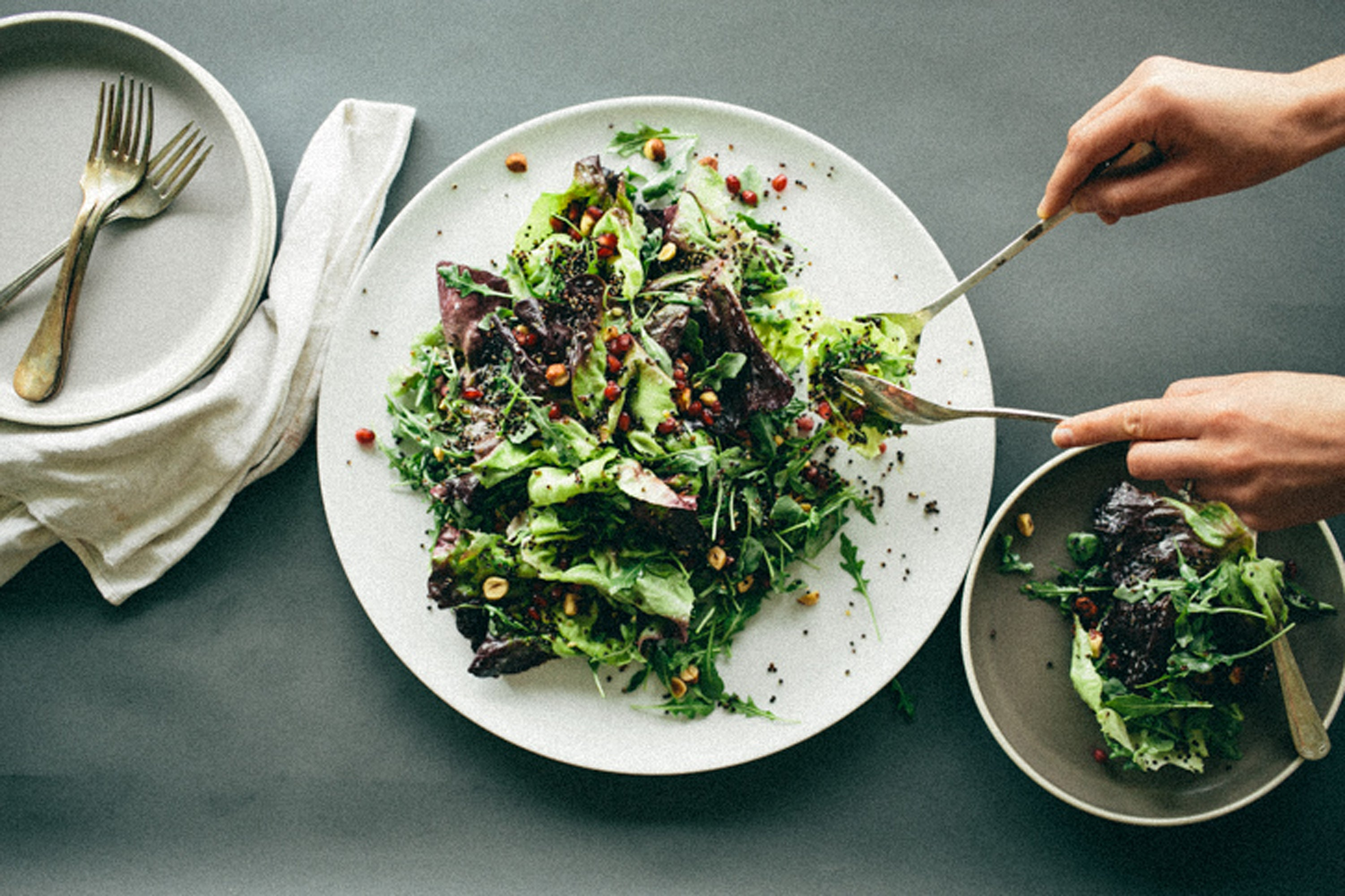 Get Your Life Right With These 7 Warming Winter Salads
