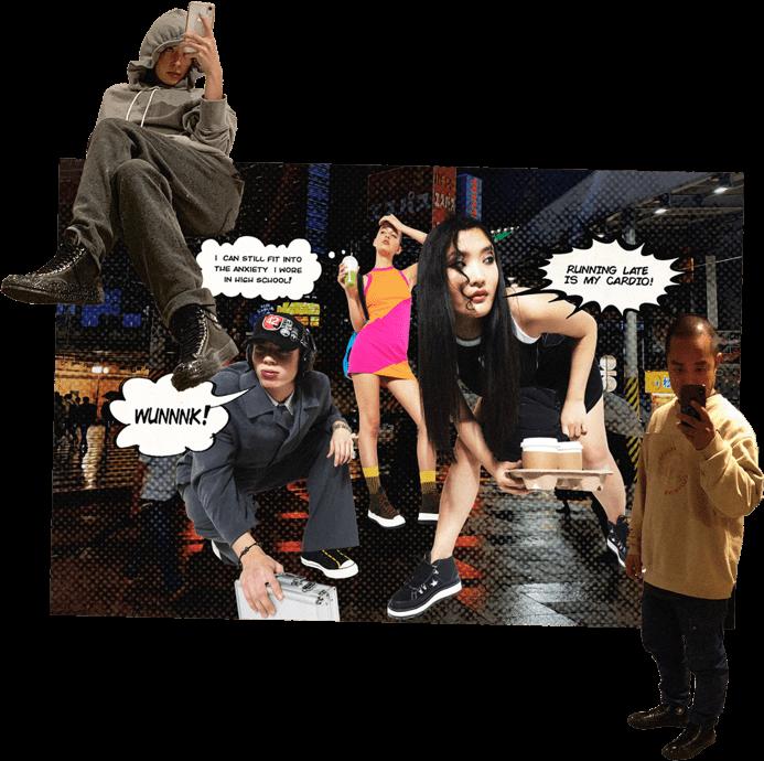 RUE-L collage