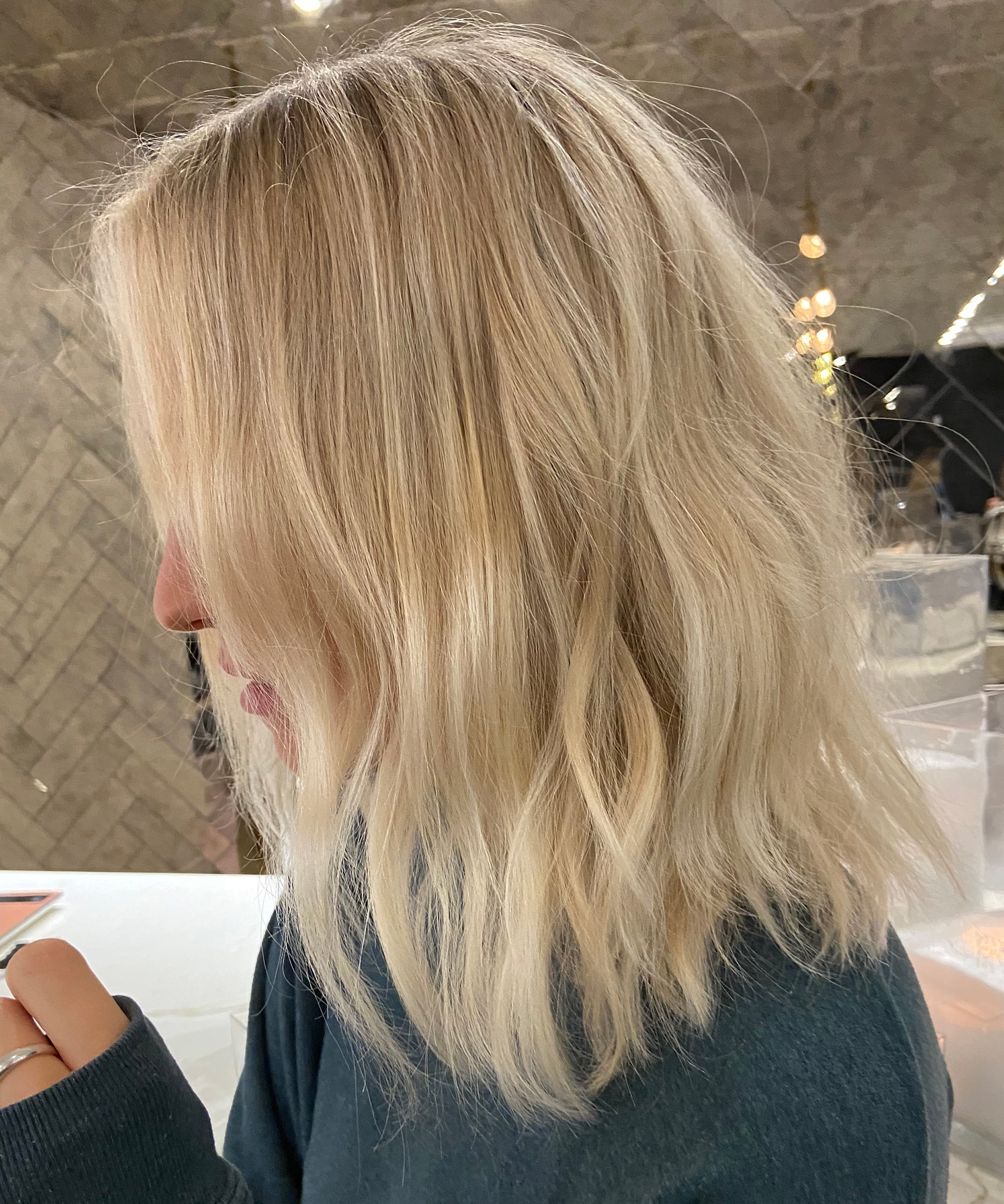 Stone Blonde Hair Is The New Platinum Color Trend 2020