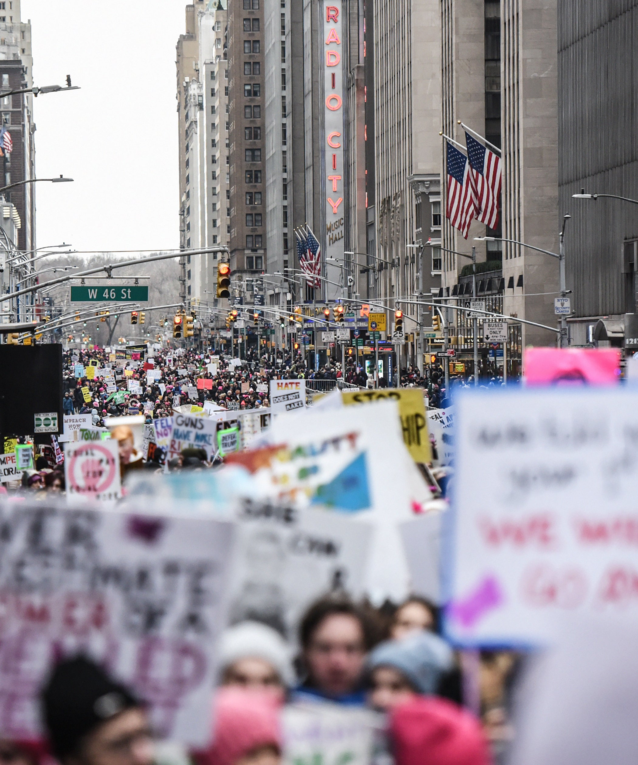 Inspiring Instagram Captions For The Women's March