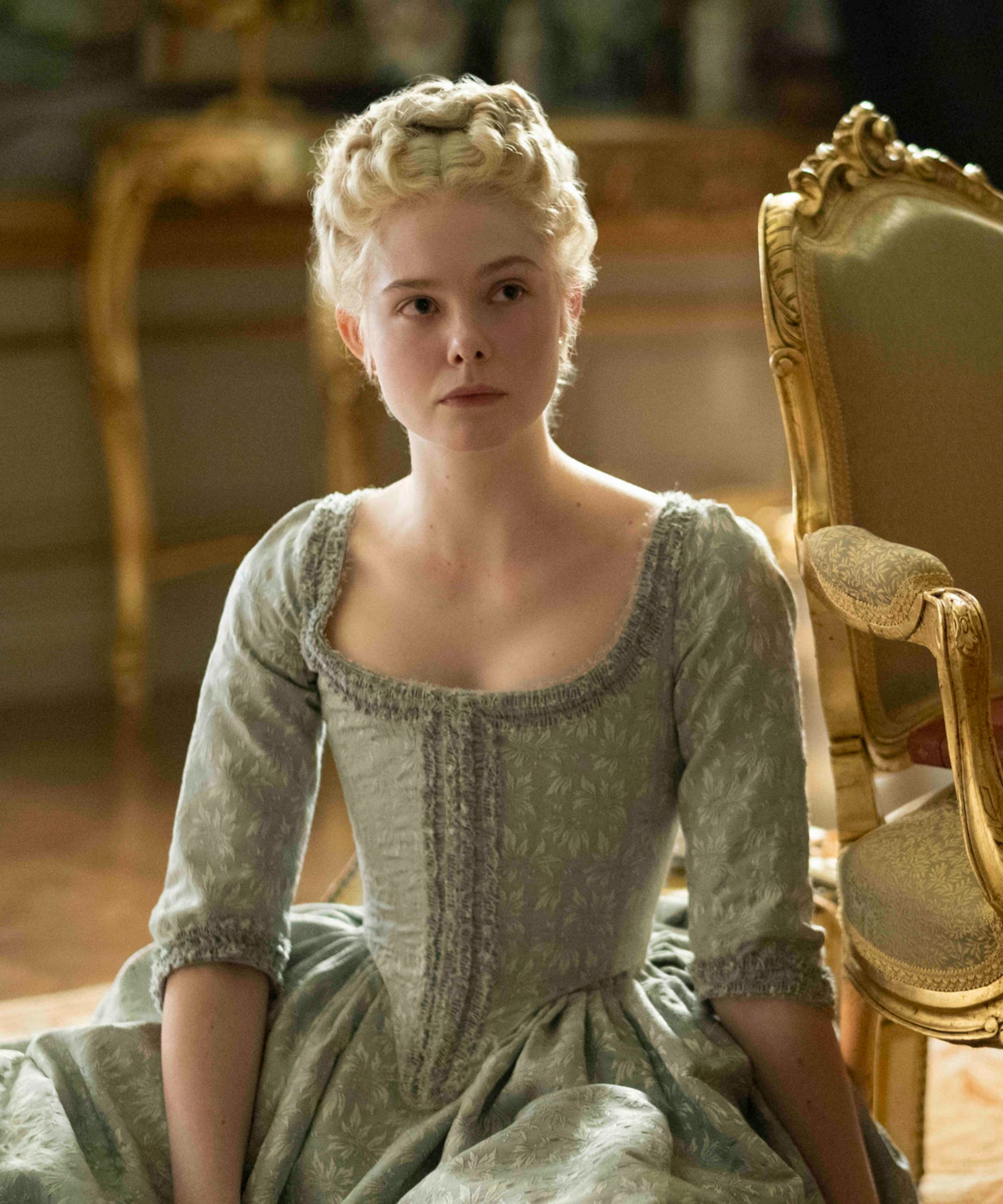 Elle Fanning Is An Eager Empress Cursed With An Idiot Husband In The Great