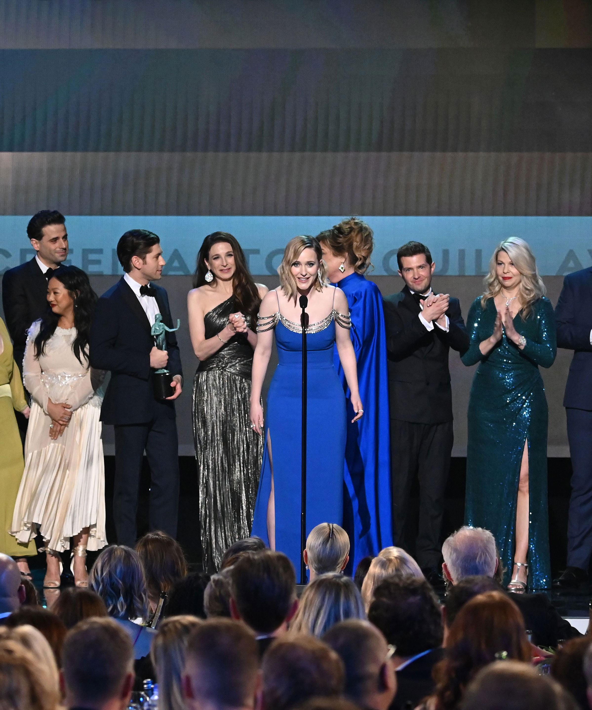 Marvelous Mrs. Maisel Cast Calls Their SAG Win A Mistake In Bleeped-Out Speech