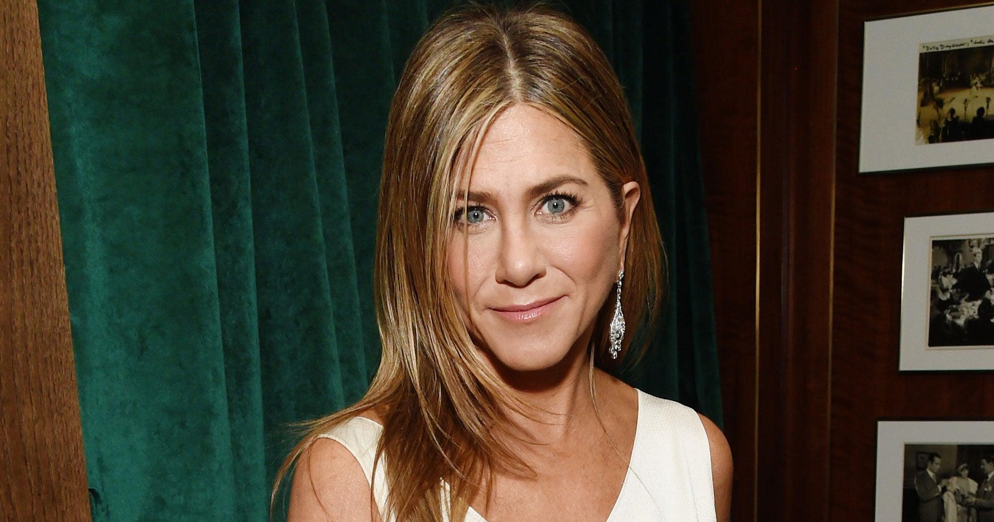 Jennifer Aniston Shopped Her Closet For That Glamorous White Dior SAG Awards Gown