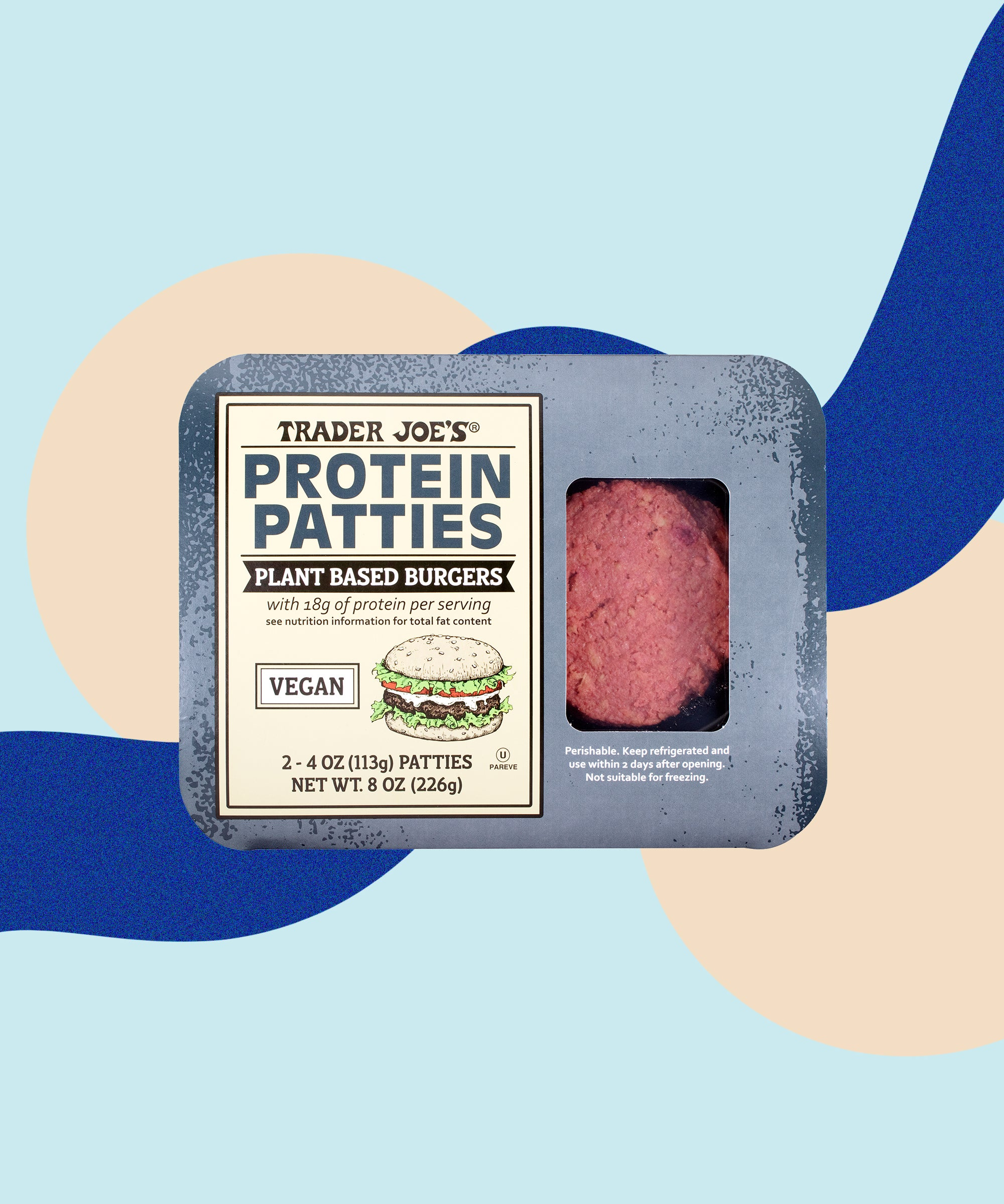 Trader Joe's Just Launched Its Own Version Of The Beyond Burger