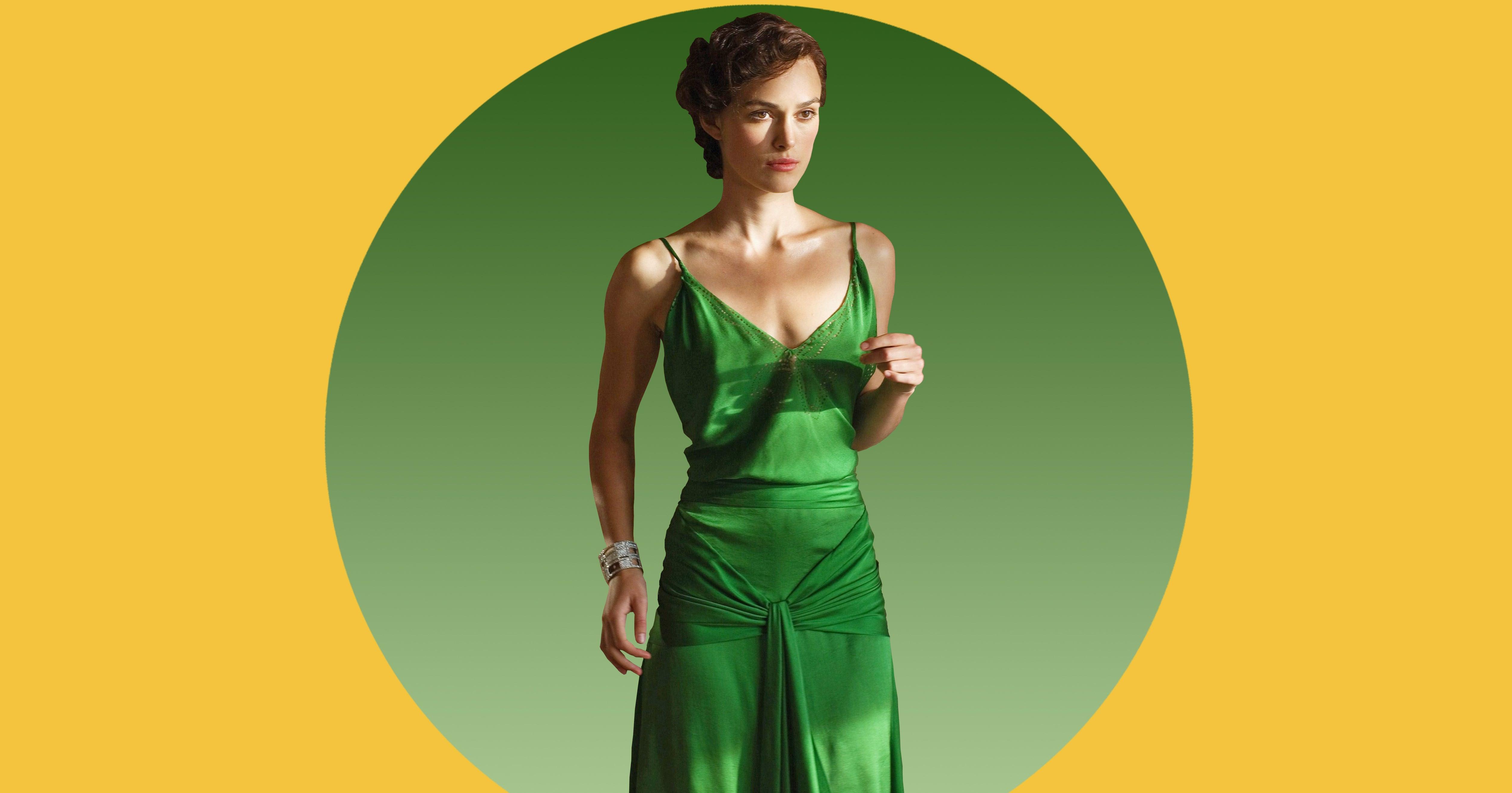 Der verborgene Reiz des grünen Kleides