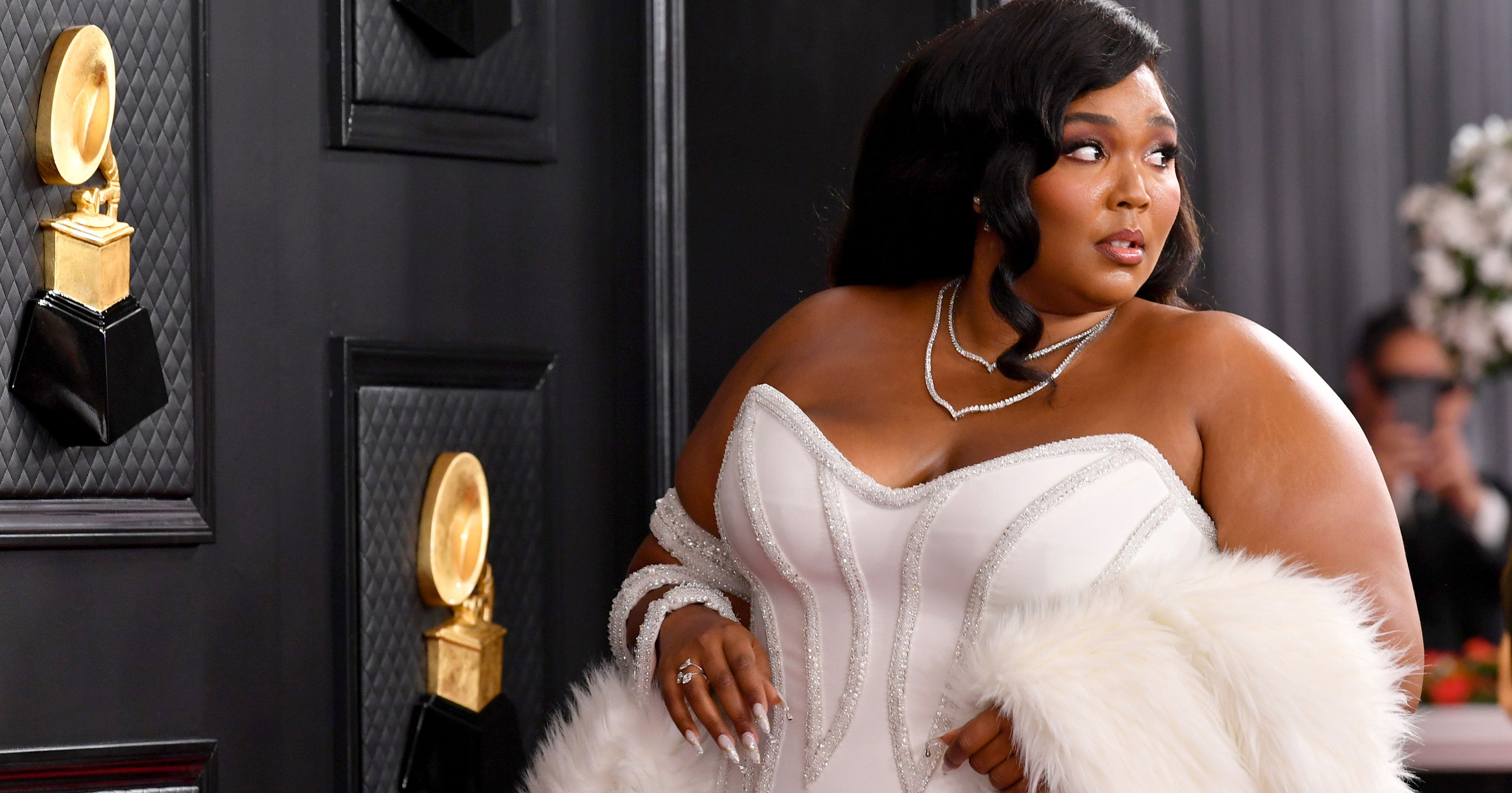 The Sparkly Symbolism Behind Lizzo's Diamond Grammys Mani