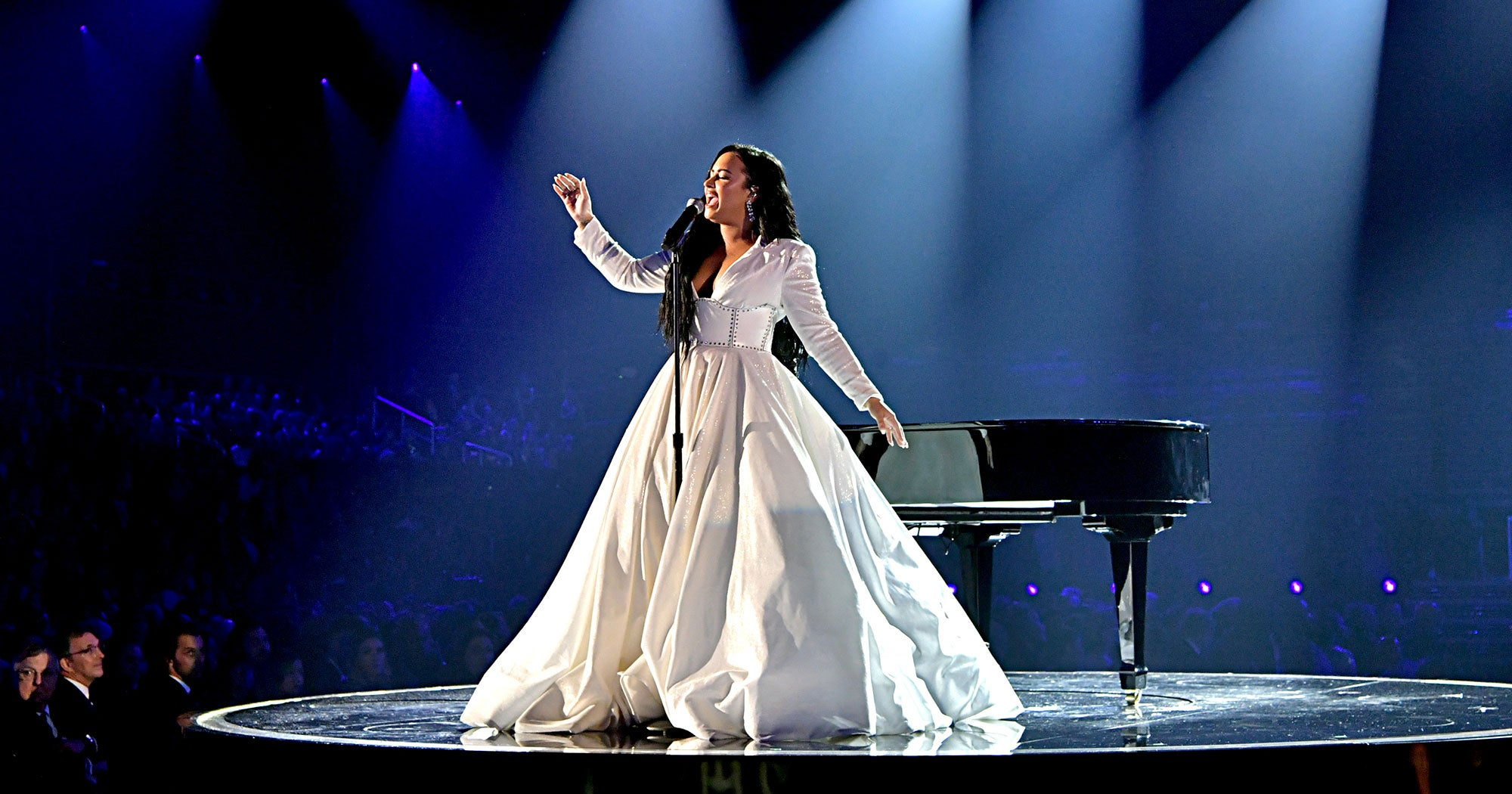 Demi Lovato Receives Standing Ovation For First Performance Since Hospitalization