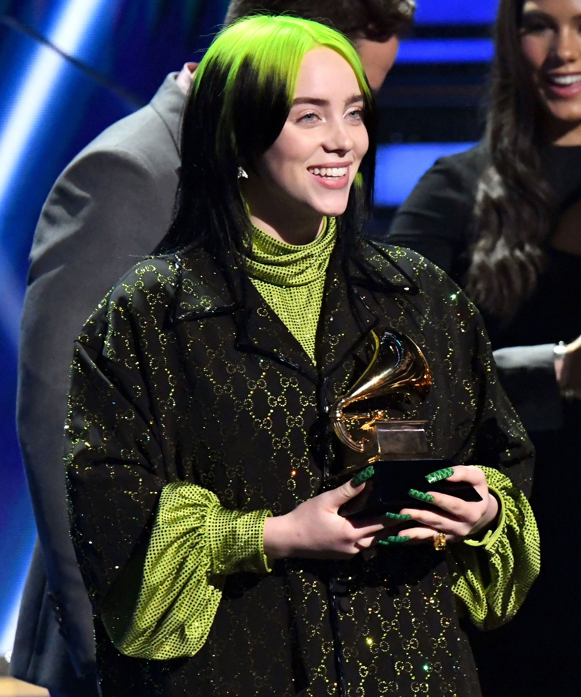 Billie Eilish Makes Grammys History With Her First Win