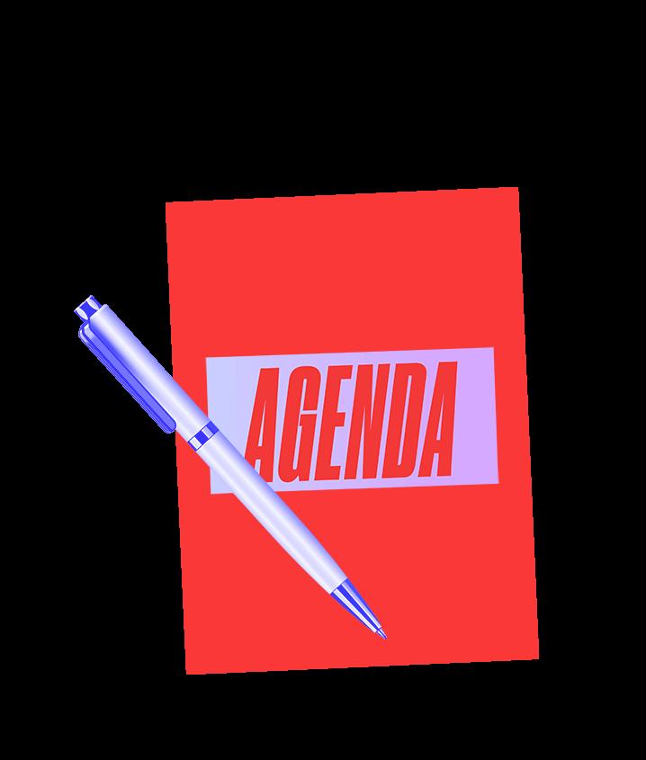 Next on the Agenda