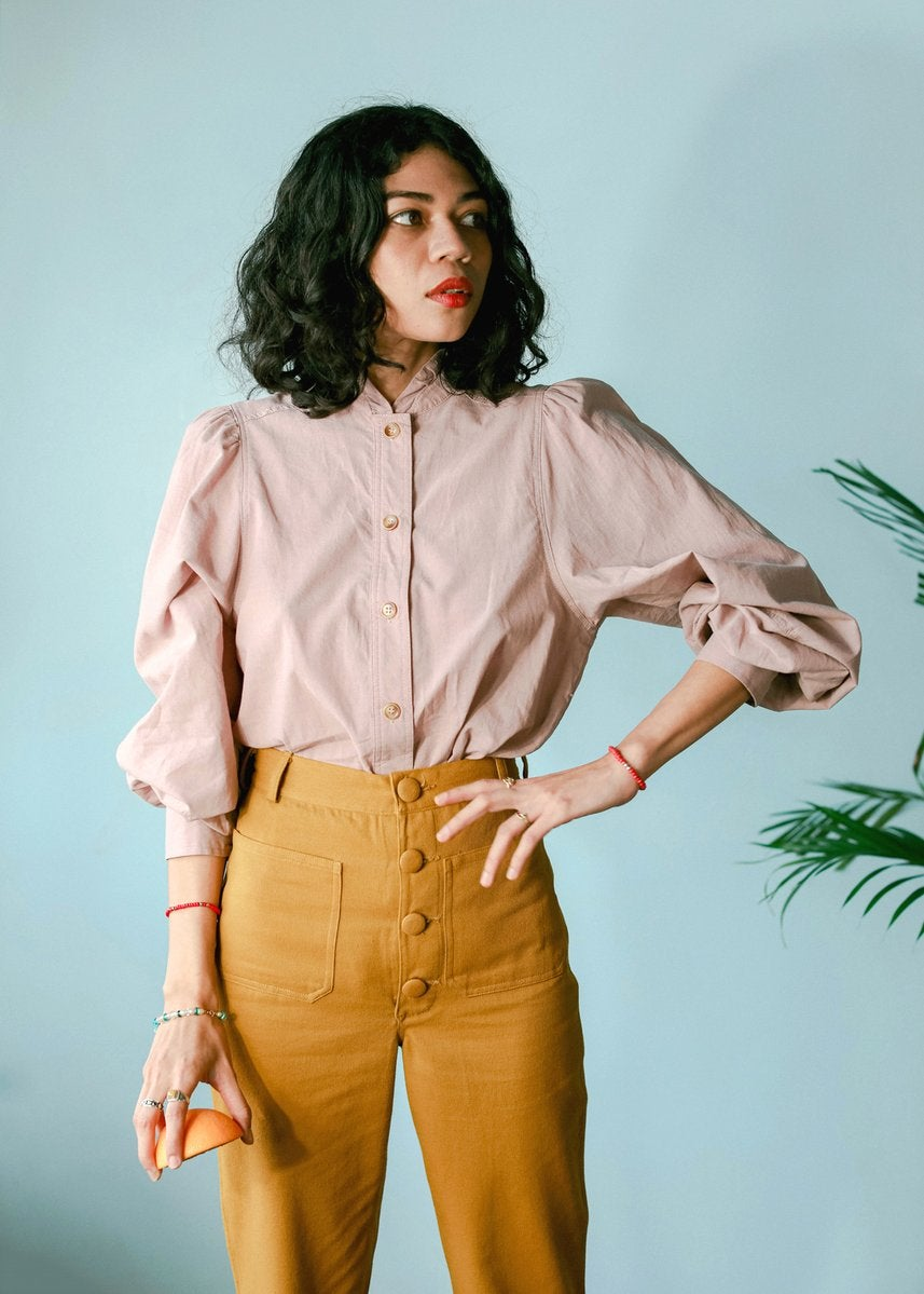 Sister Jane Pen And Pearl Blouse in 2021 | Blouse urban