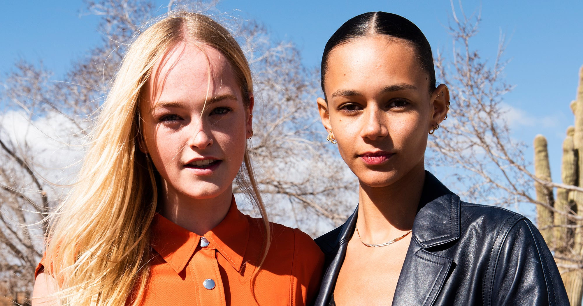 Coach's Newest Campaign Models Share Their Easy 'No-Makeup Makeup' Routines