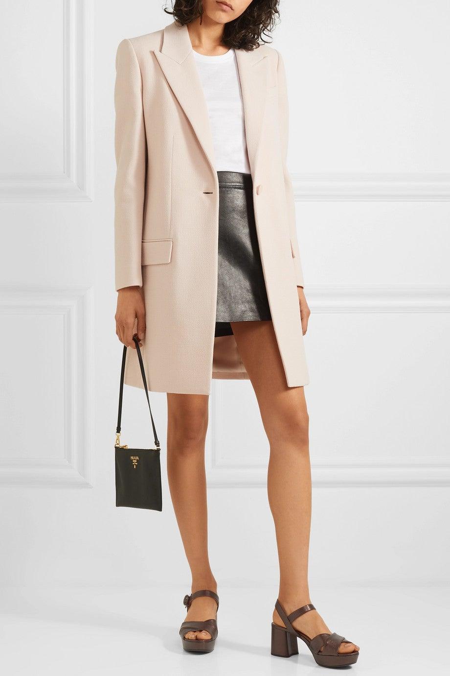 adidas By Stella McCartney Blue Runway Fleece Activewear Outerwear Size 6 (S, 28) 78% off retail