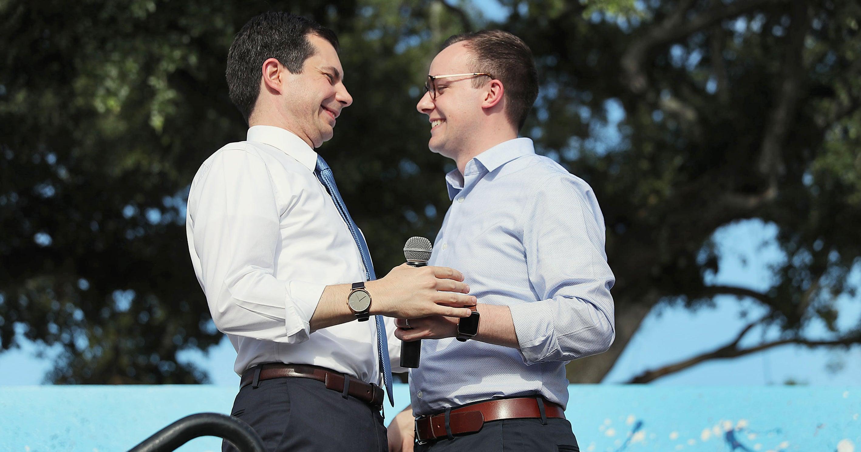 Pete & Chasten Buttigieg's Relationship Is Winning Us Over This Election Season