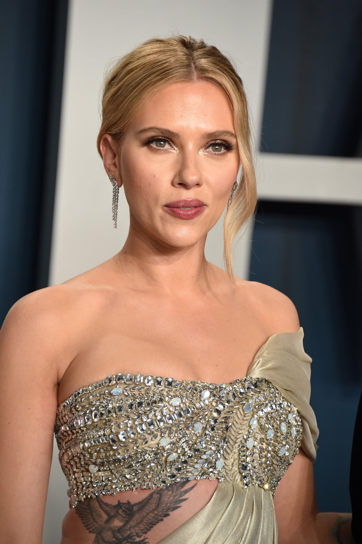 Scarlett Johansson Tattoos Are Back For The Oscars 20