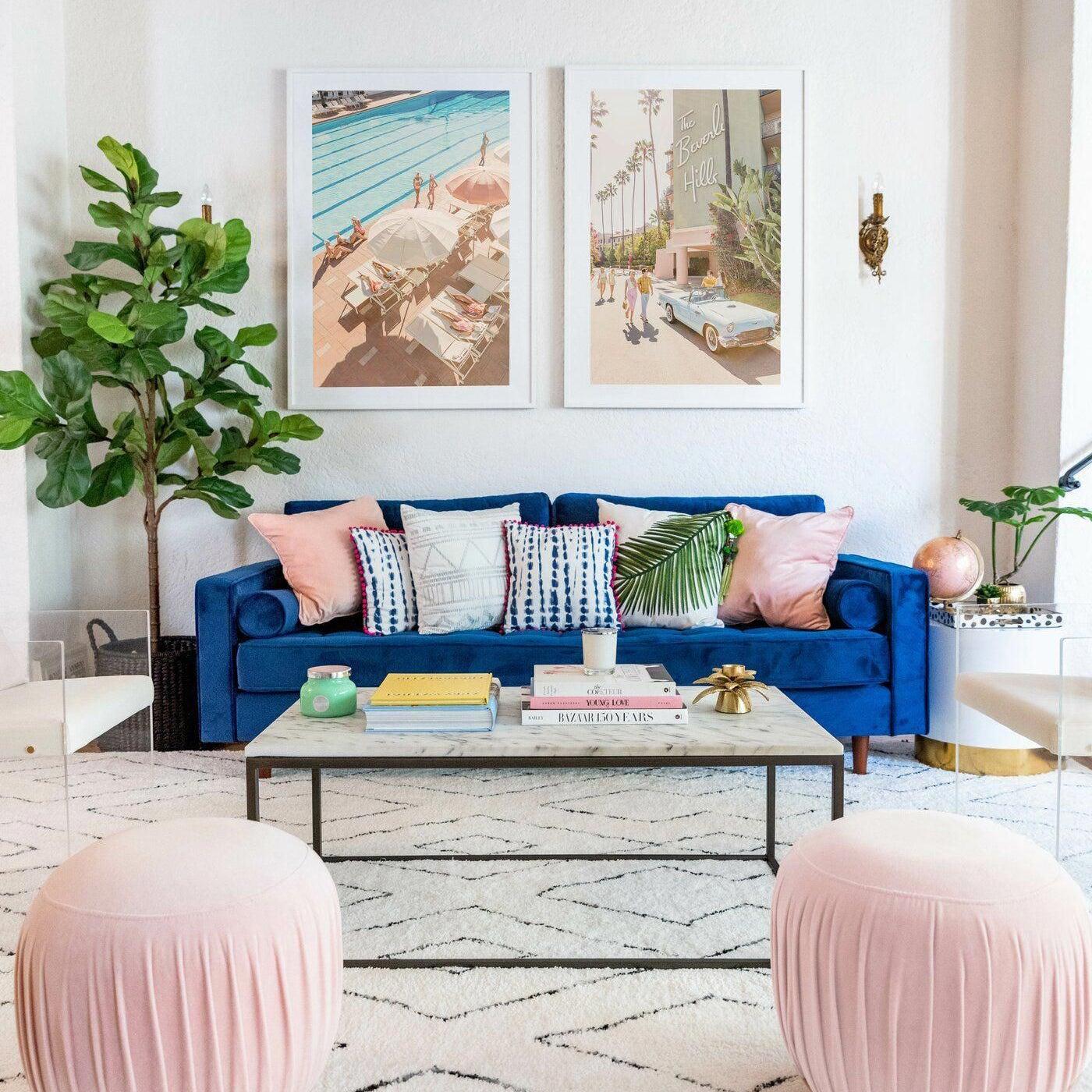 Chesterfield Maison Du Monde derry 88″ square arm sofa