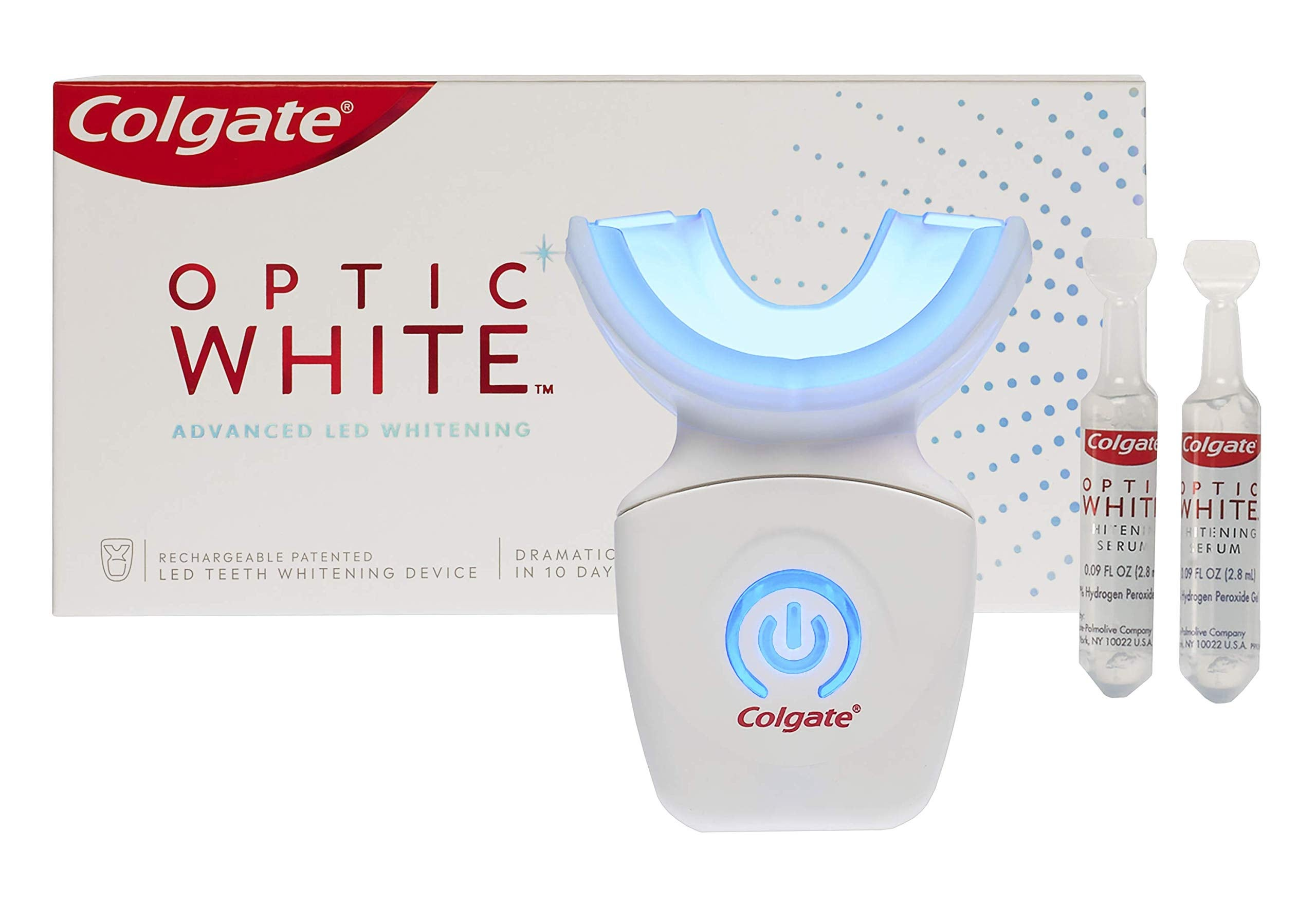 Colgate Optic White Advanced Teeth Whitening Kit