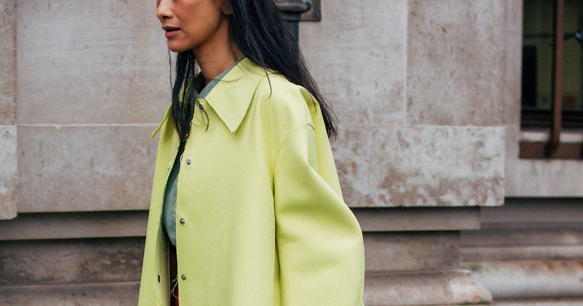 42 Ways London's Street Stylers Dress For The Rain